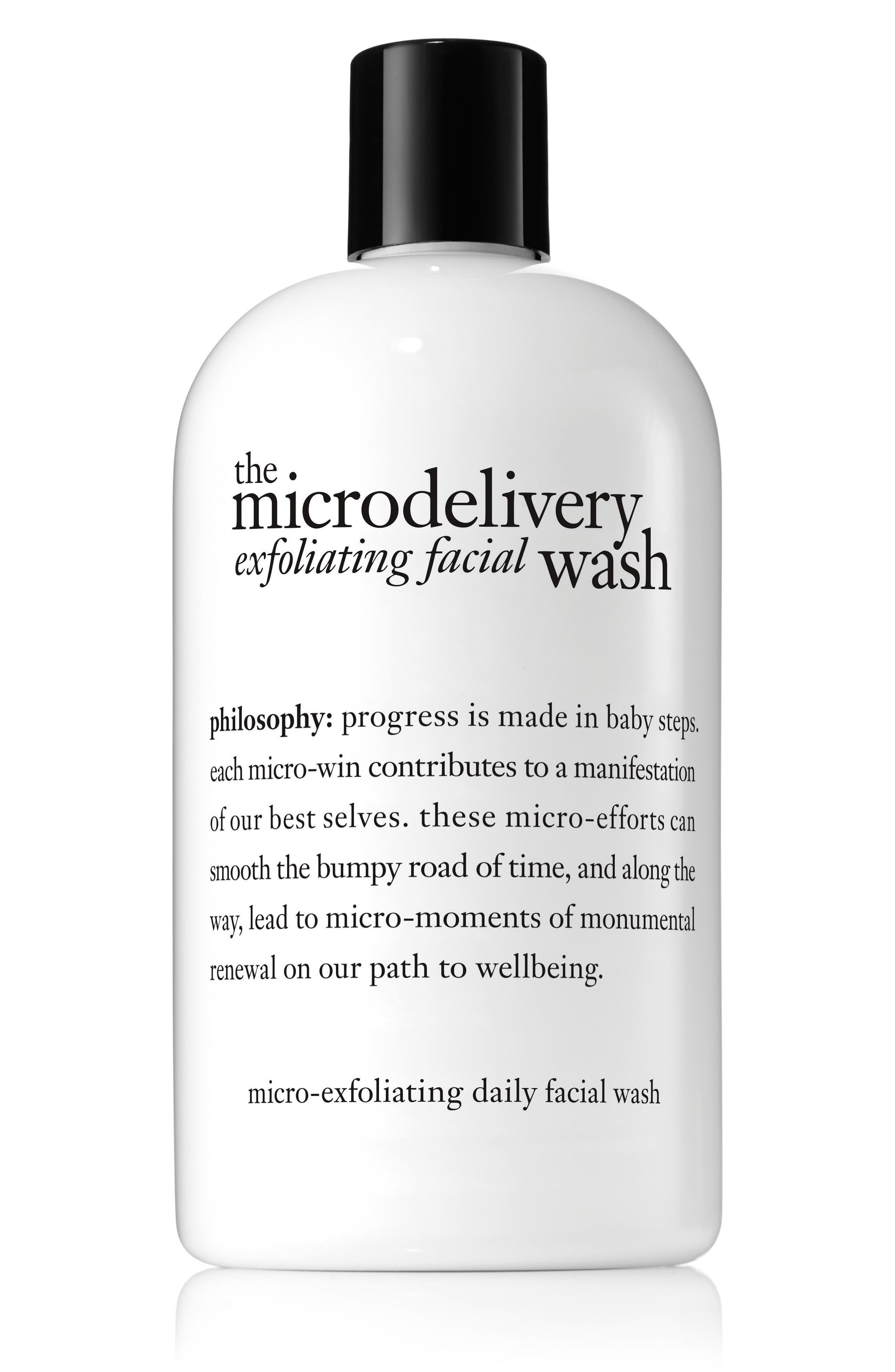 the microdelivery exfoliating facial wash,                             Main thumbnail 1, color,                             No Color