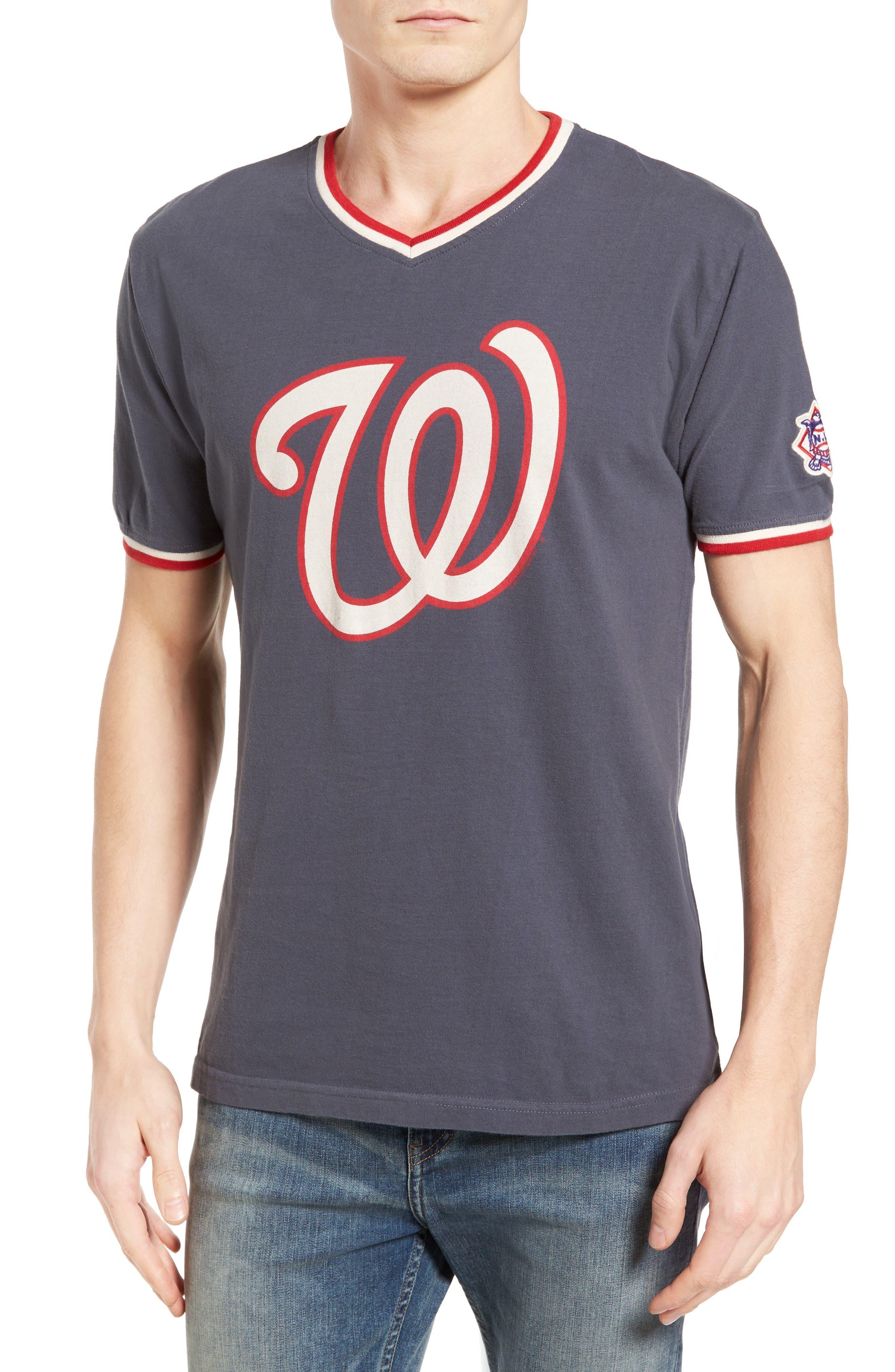 Alternate Image 1 Selected - American Needle Eastwood Washington Nationals T-Shirt