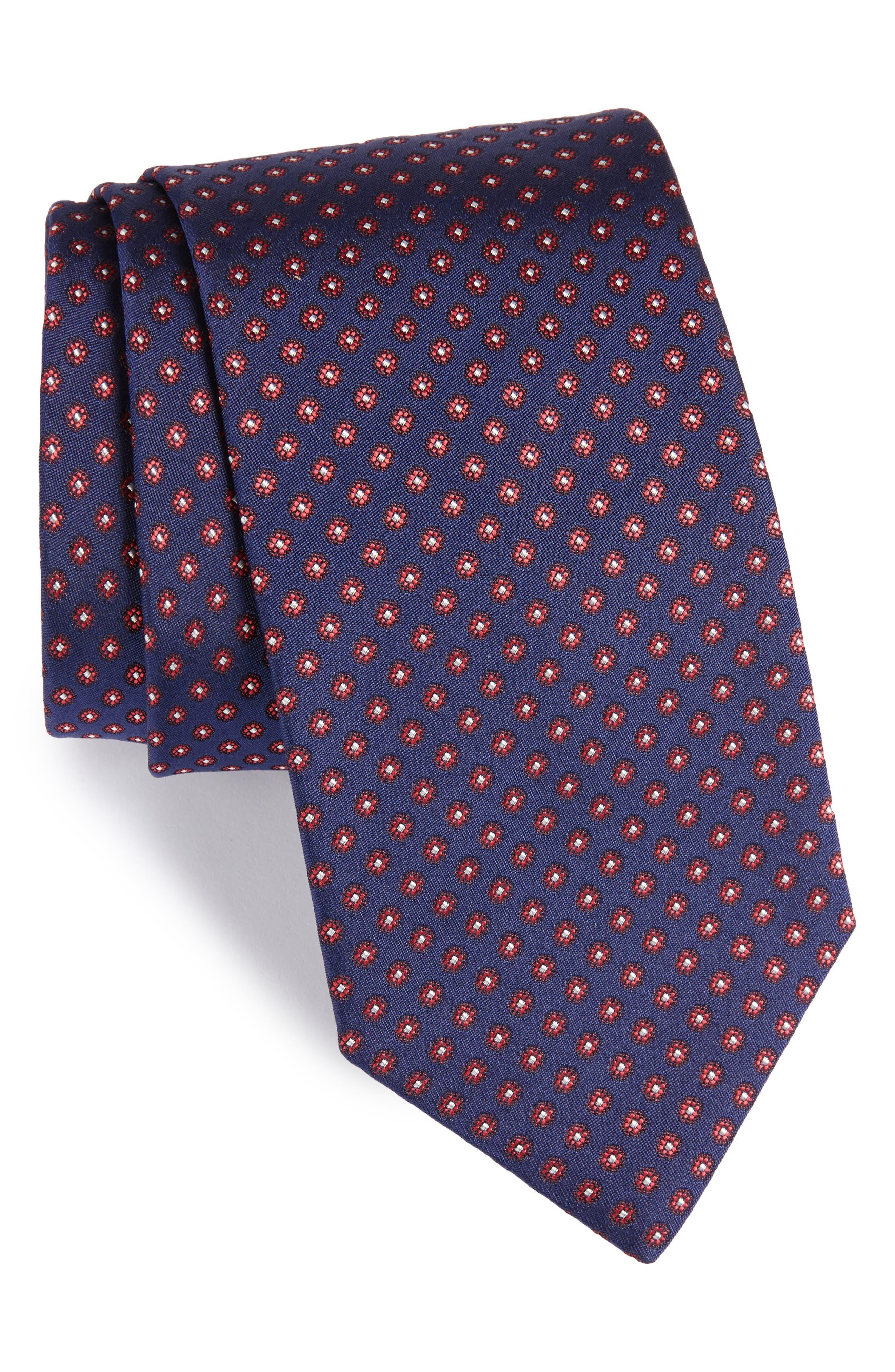 ETON Floral Silk Tie