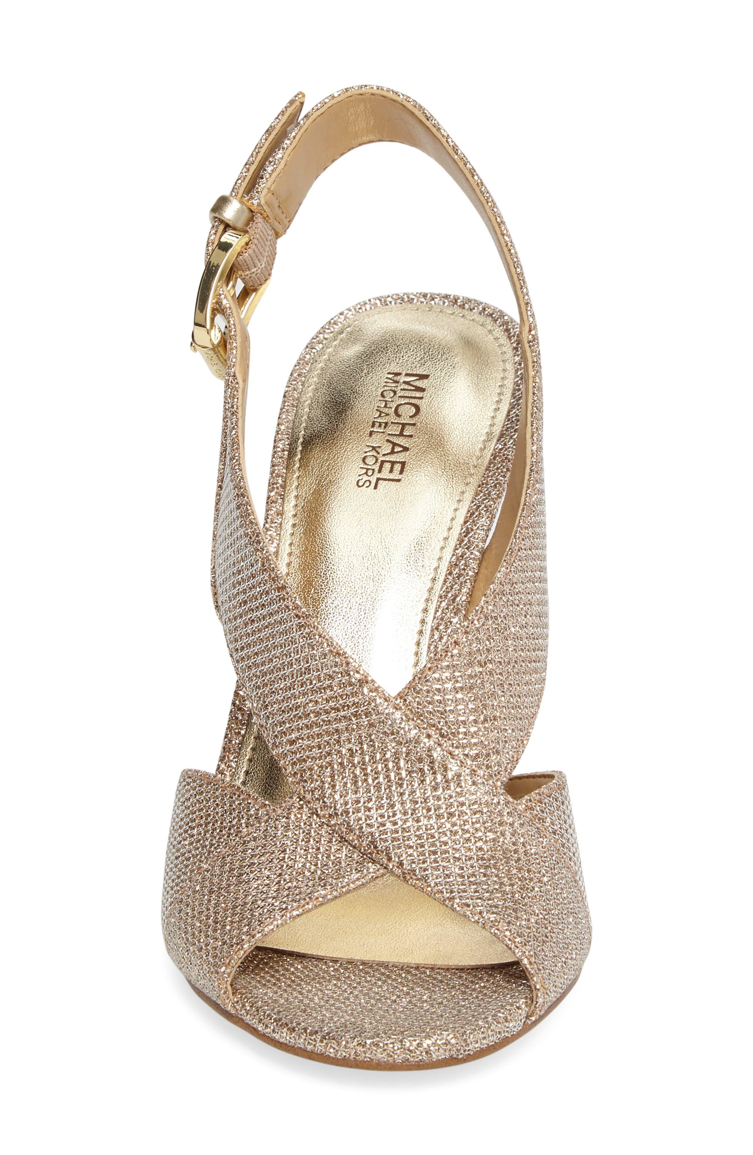 Alternate Image 4  - MICHAEL Michael Kors Becky Cross Strap Sandal (Women)