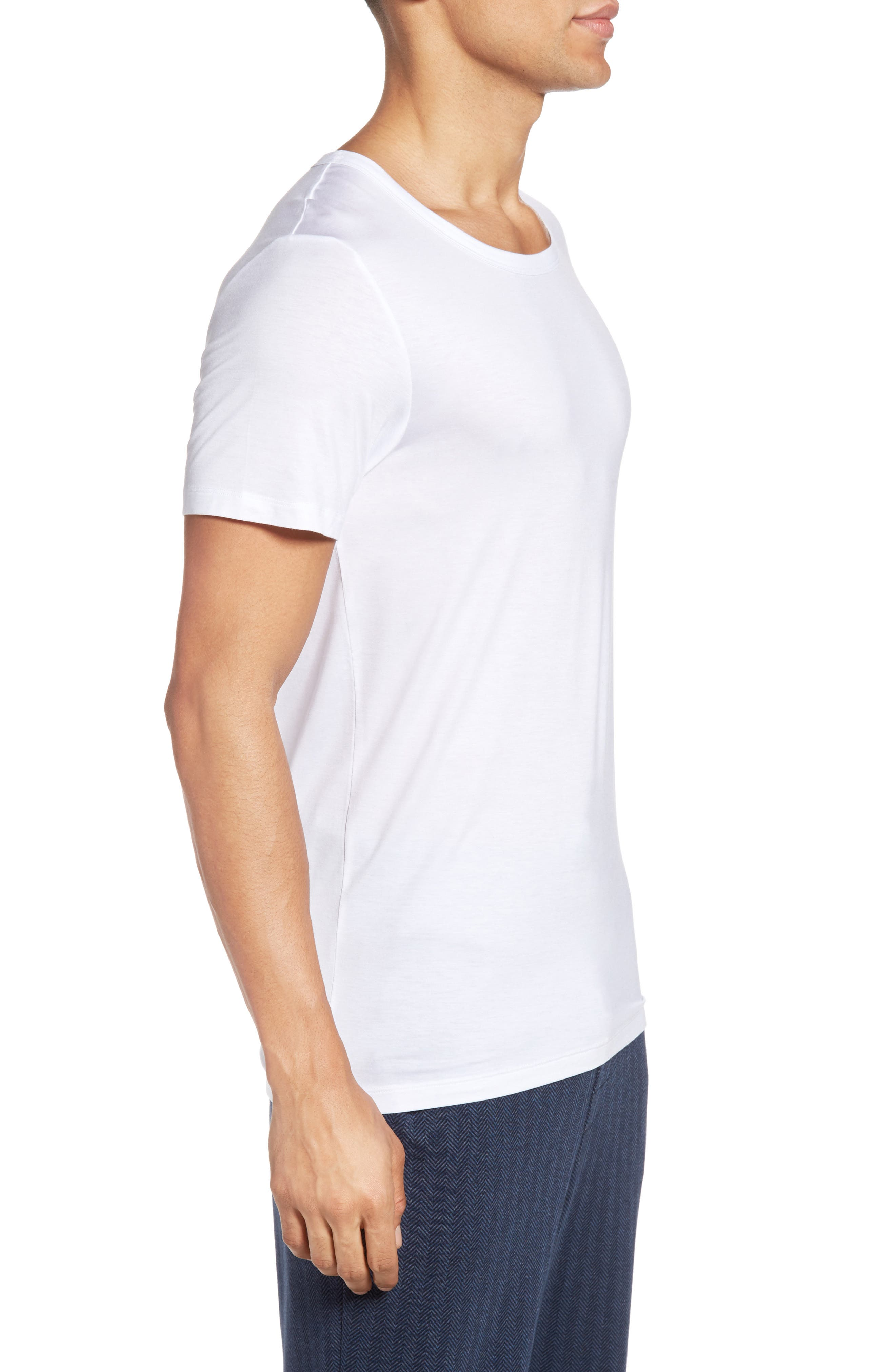 SeaCell<sup>®</sup> Blend T-Shirt,                             Alternate thumbnail 3, color,                             White