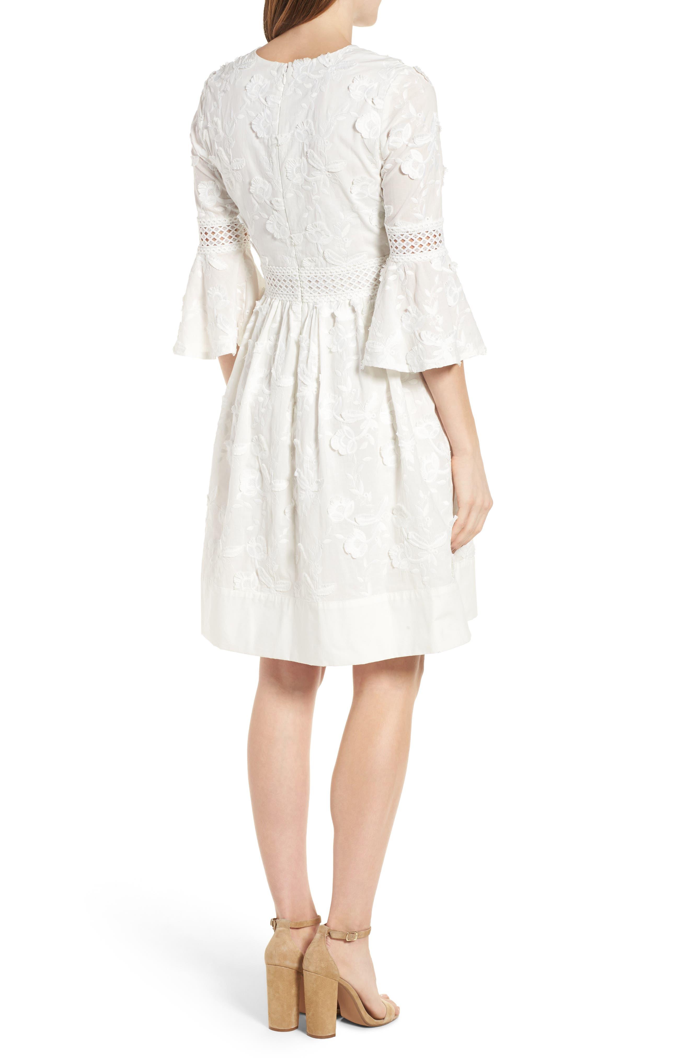 Alternate Image 3  - Eliza J Fit & Flare Dress (Regular & Petite)