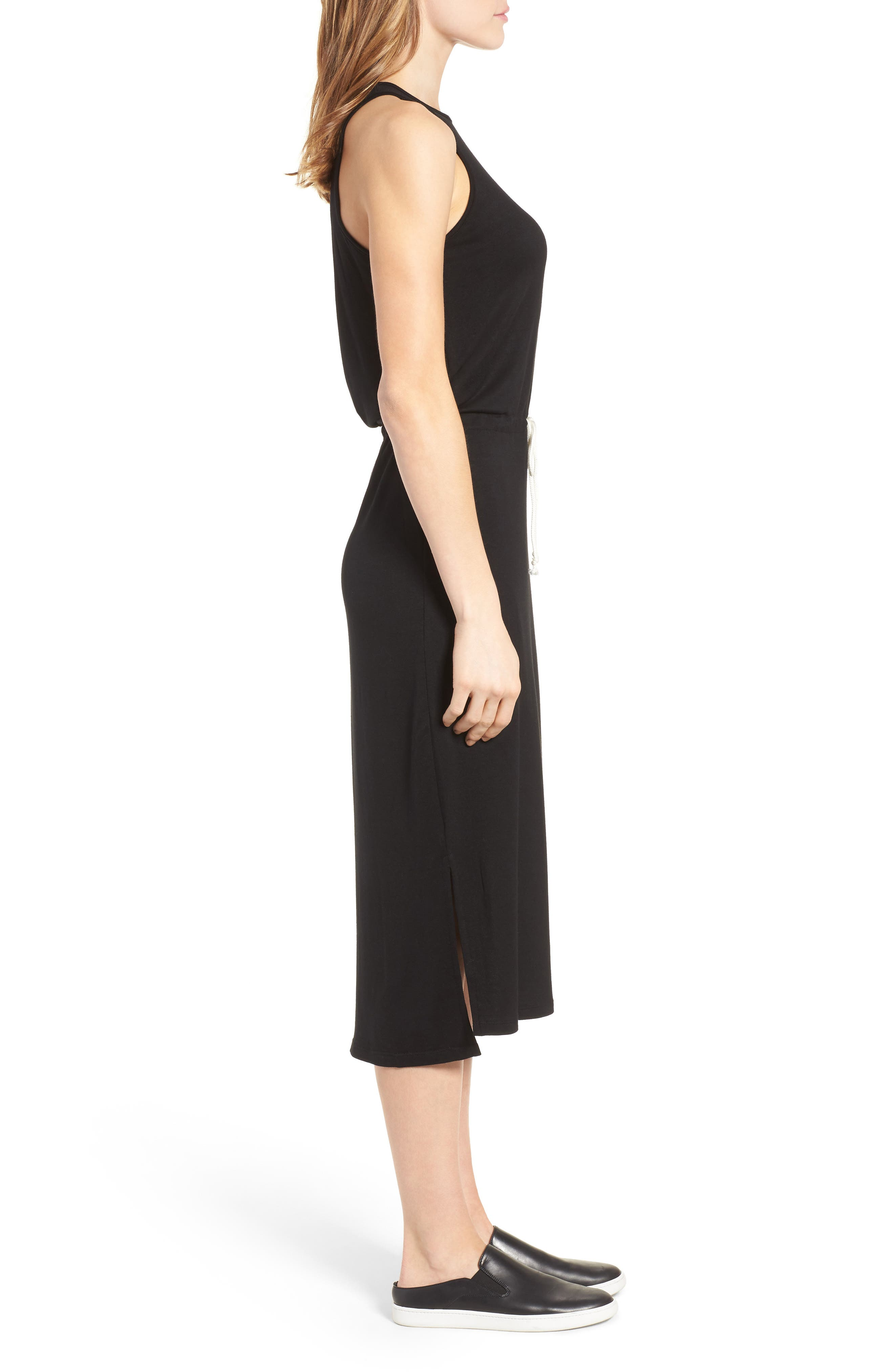 Alternate Image 3  - Press Drawstring Waist Midi Dress