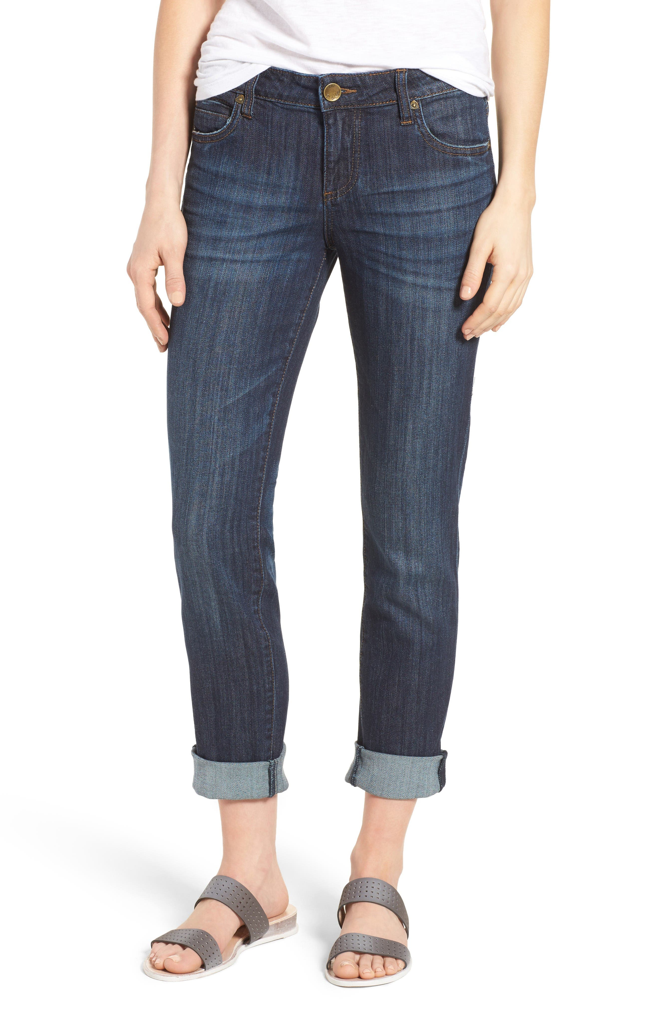 Main Image - KUT from the Kloth Catherine Boyfriend Jeans (Enticement) (Regular & Petite)