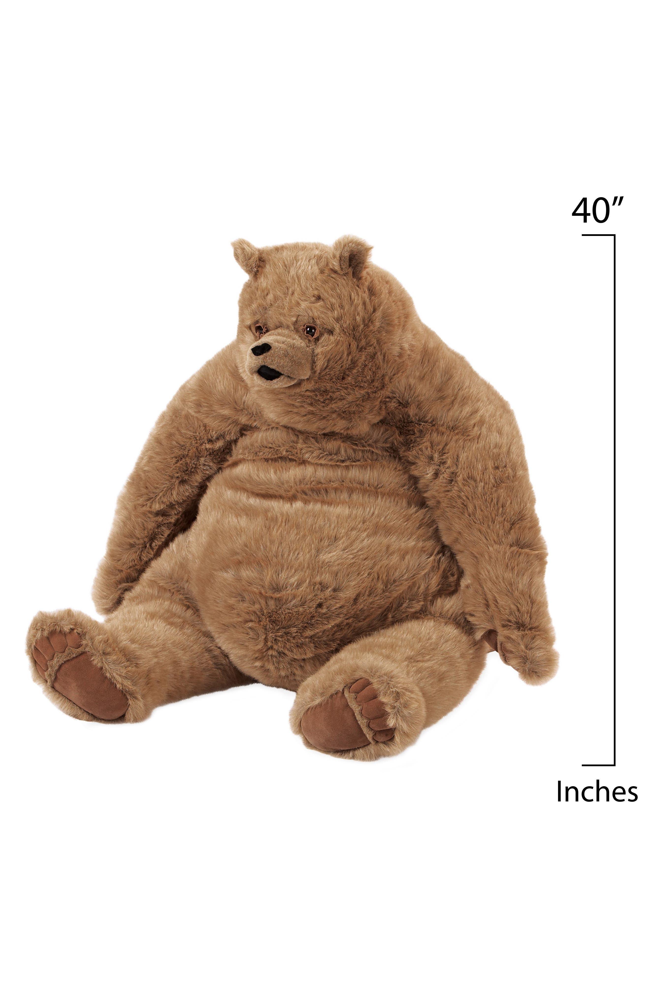 Alternate Image 3  - Manhattan Toy Jumbo Kodiak Bear Stuffed Animal