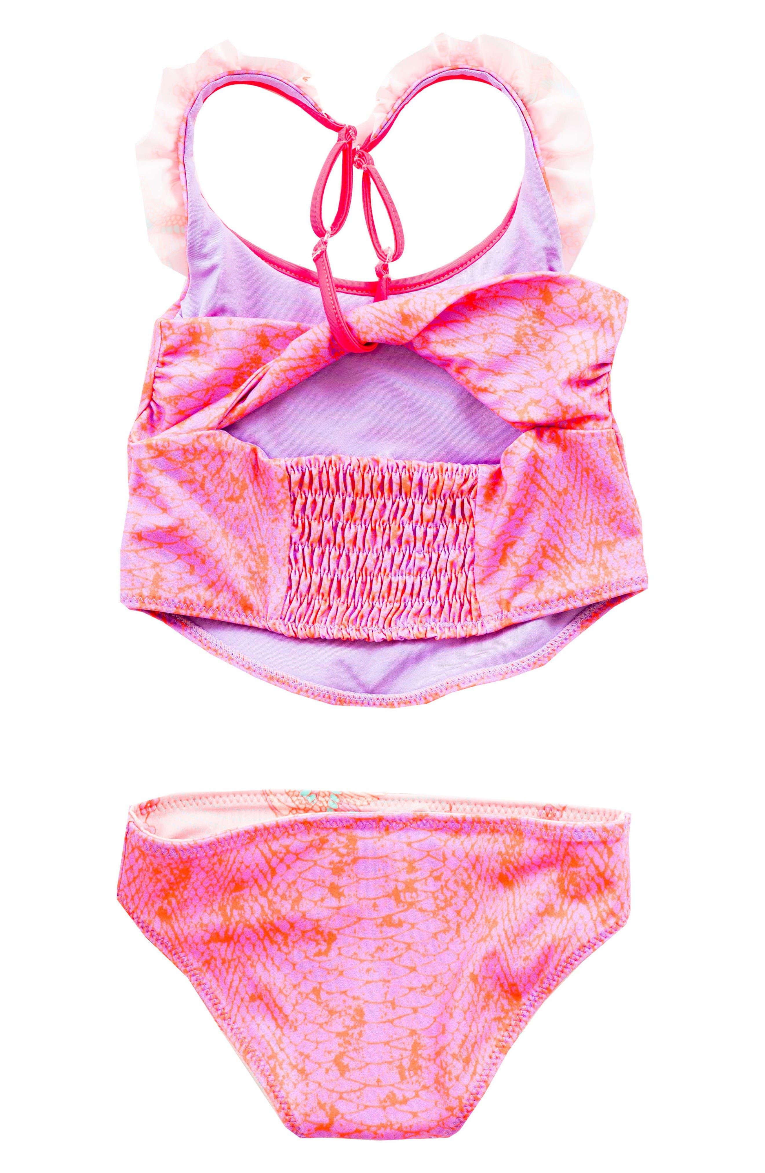 Alternate Image 2  - BOWIE X JAMES Dream Catcher Two-Piece Swimsuit (Toddler Girls, Little Girls & Big Girls)