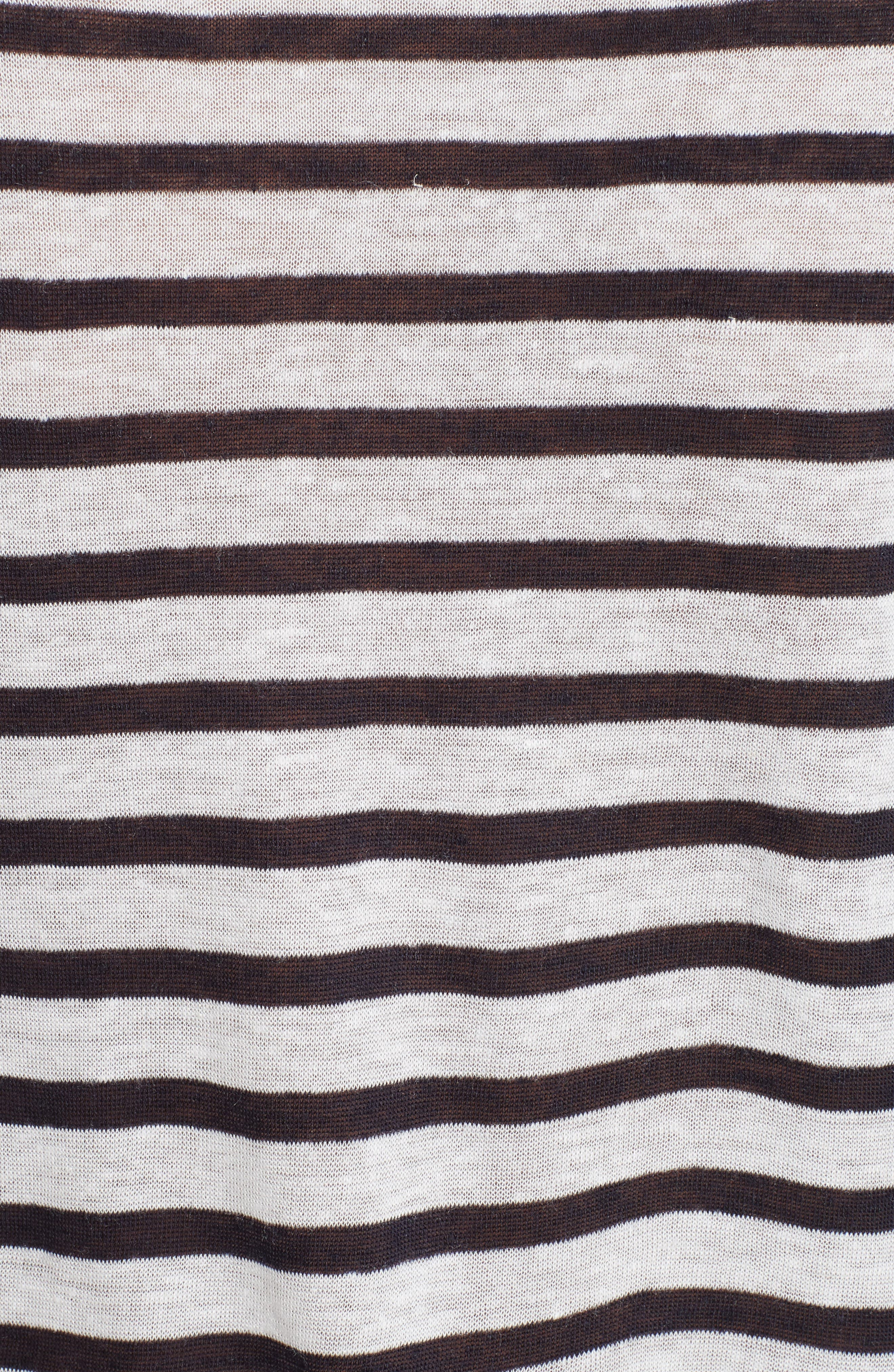 Stripe Tee,                             Alternate thumbnail 5, color,                             Ink And Ivory