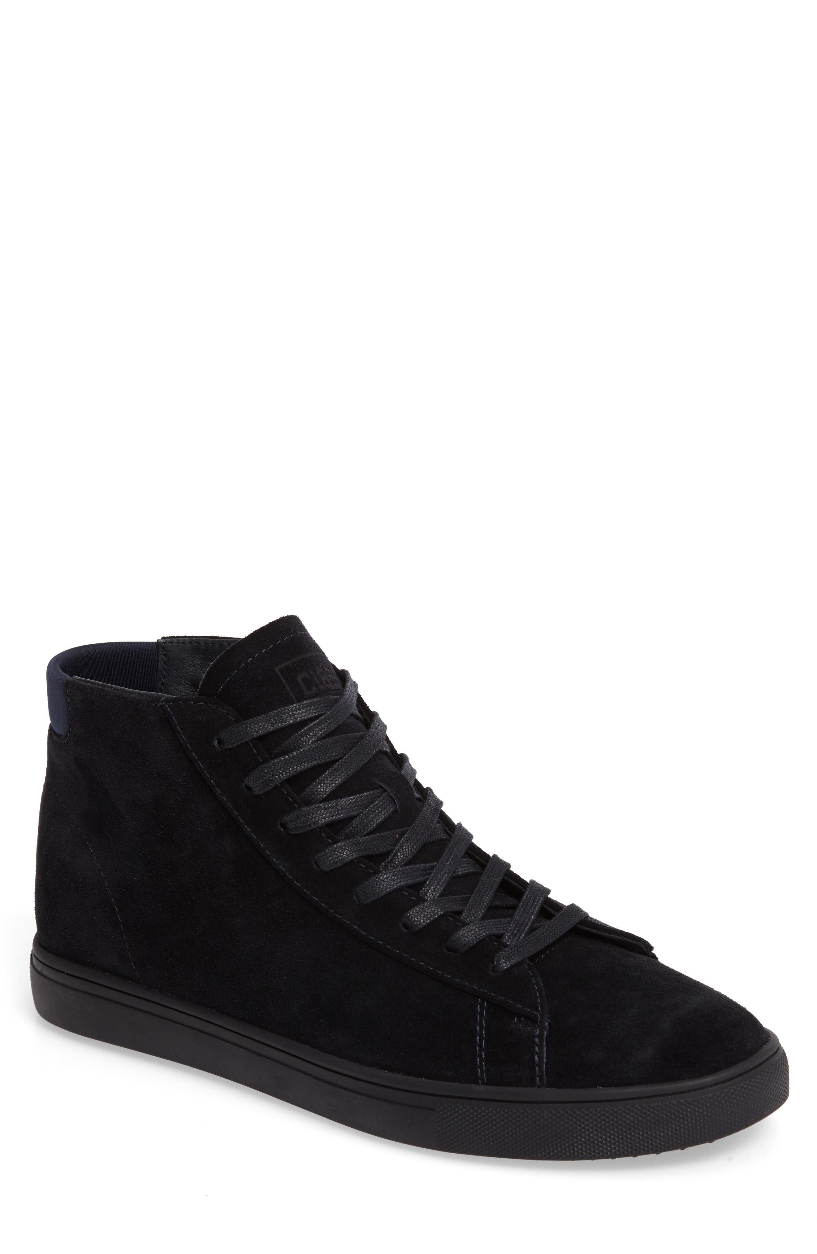 'Bradley Mid' Sneaker,                         Main,                         color, Deep Navy Suede