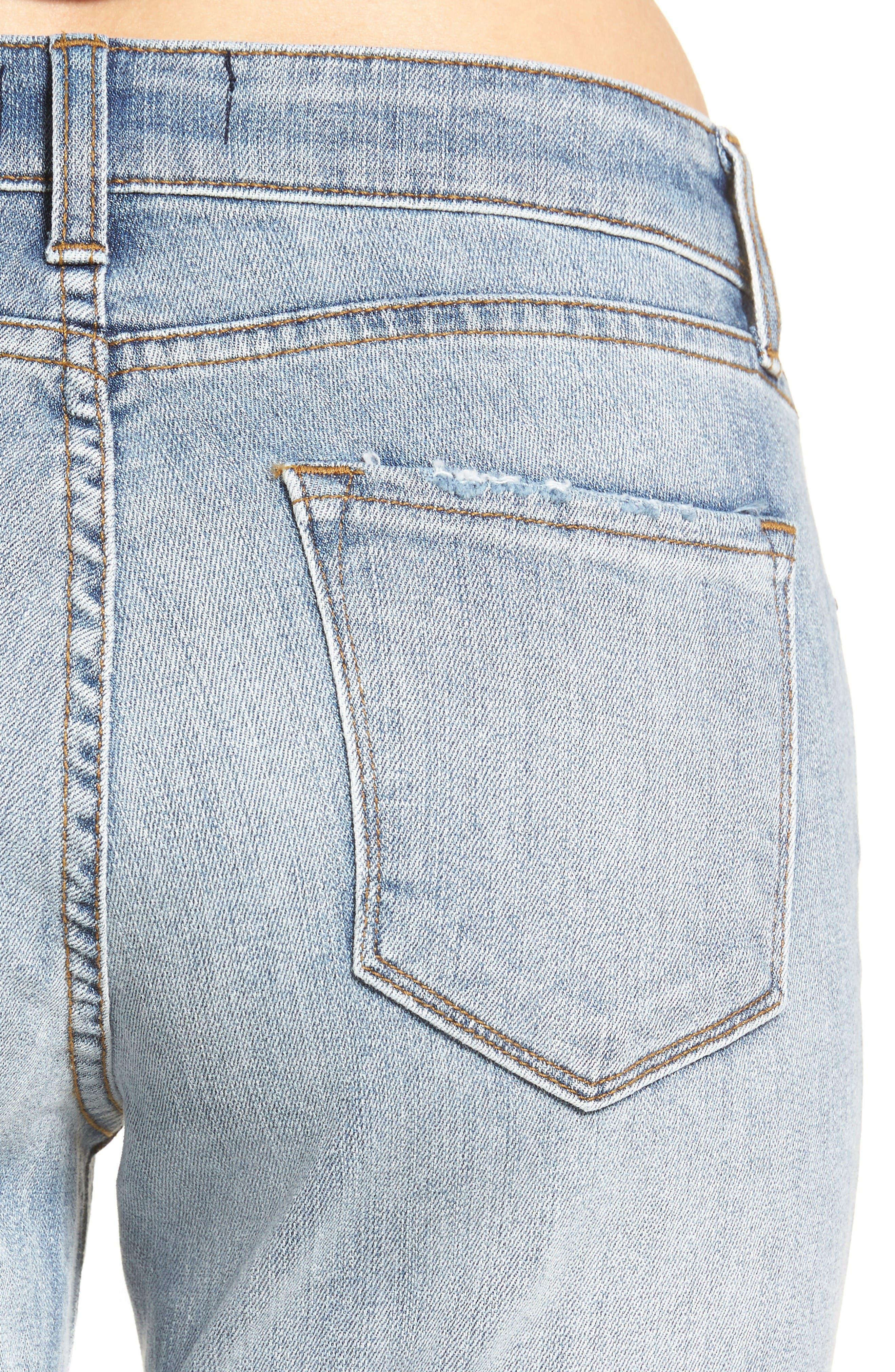 Alternate Image 4  - STS Blue Fray Hem Taylor Tomboy Jeans
