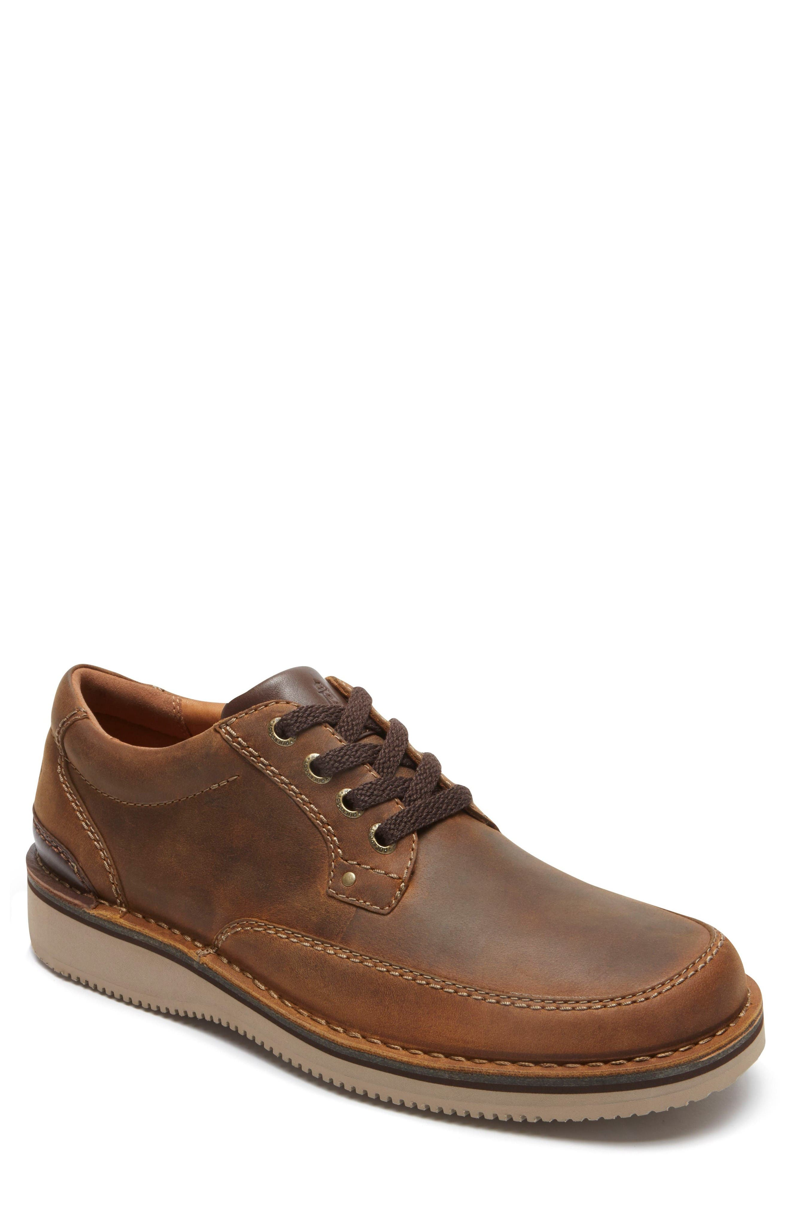 Prestige Point Mudguard Oxford,                             Main thumbnail 1, color,                             Beeswax Leather