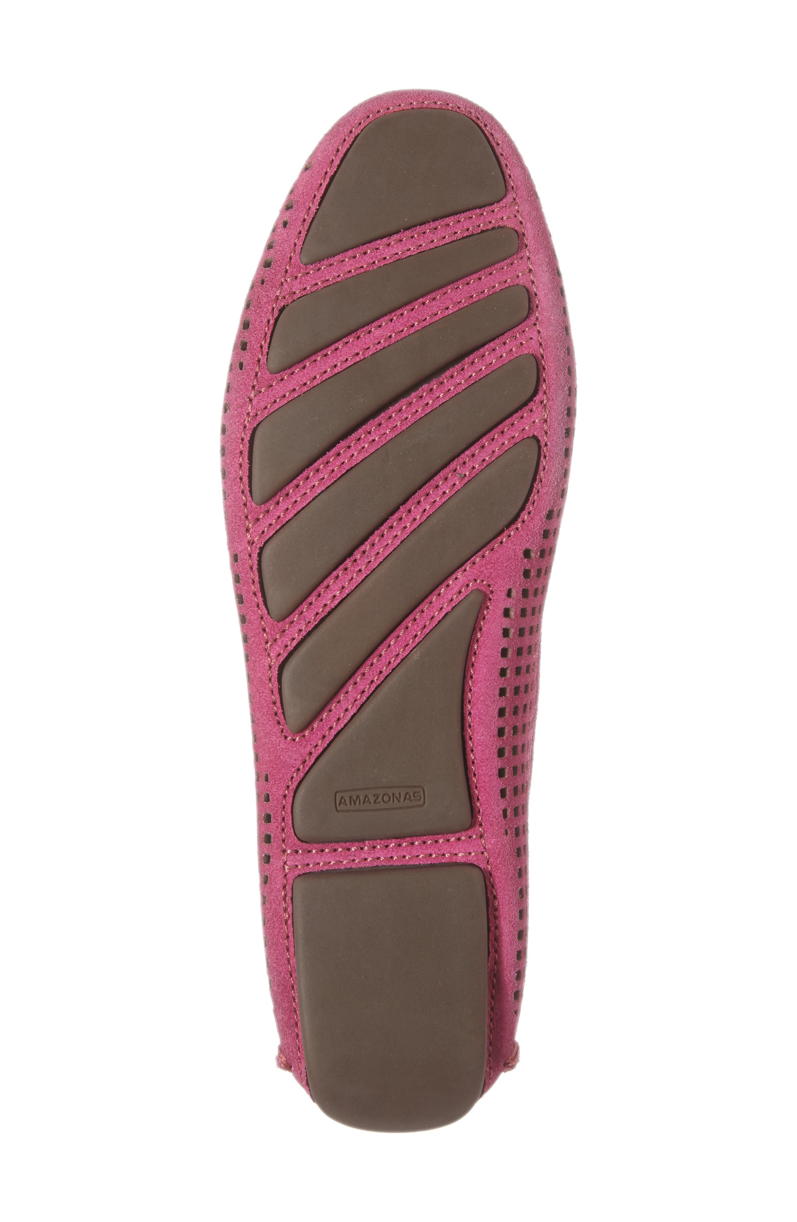 'Barrie' Flat,                             Alternate thumbnail 6, color,                             Hot Pink Suede