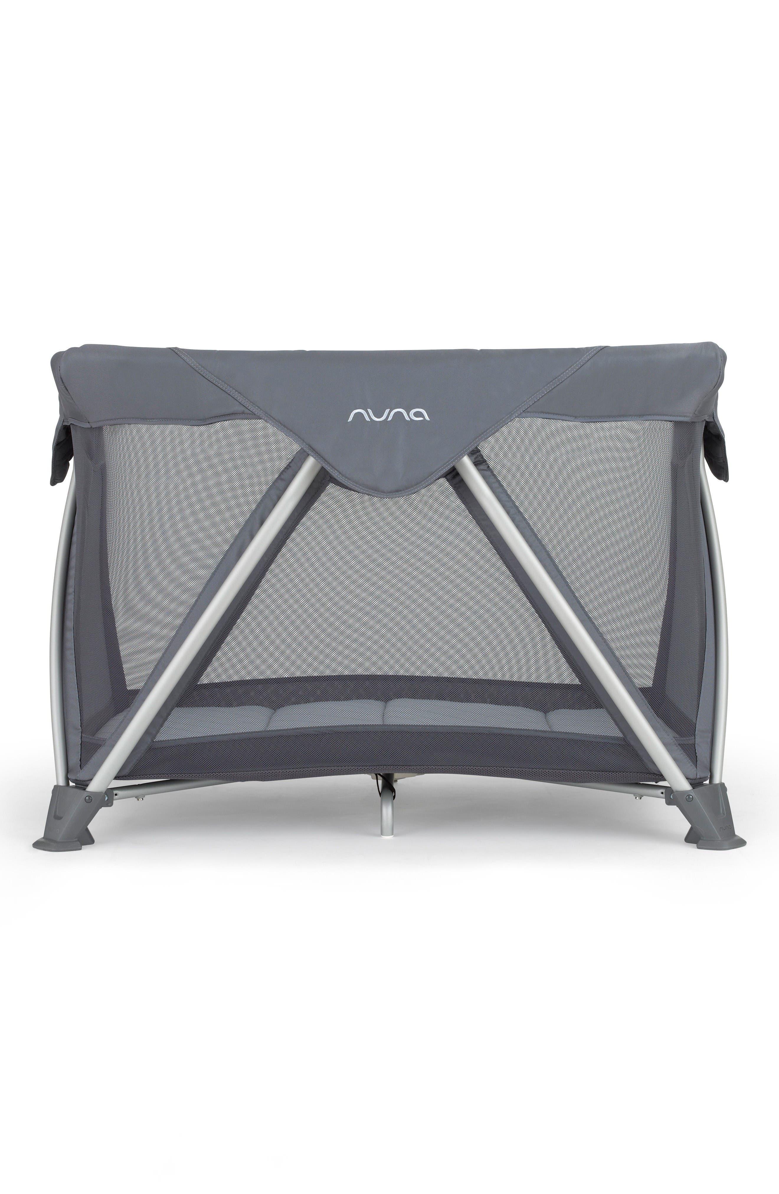 SENA<sup>™</sup> Mini Aire Travel Crib,                         Main,                         color, Graphite