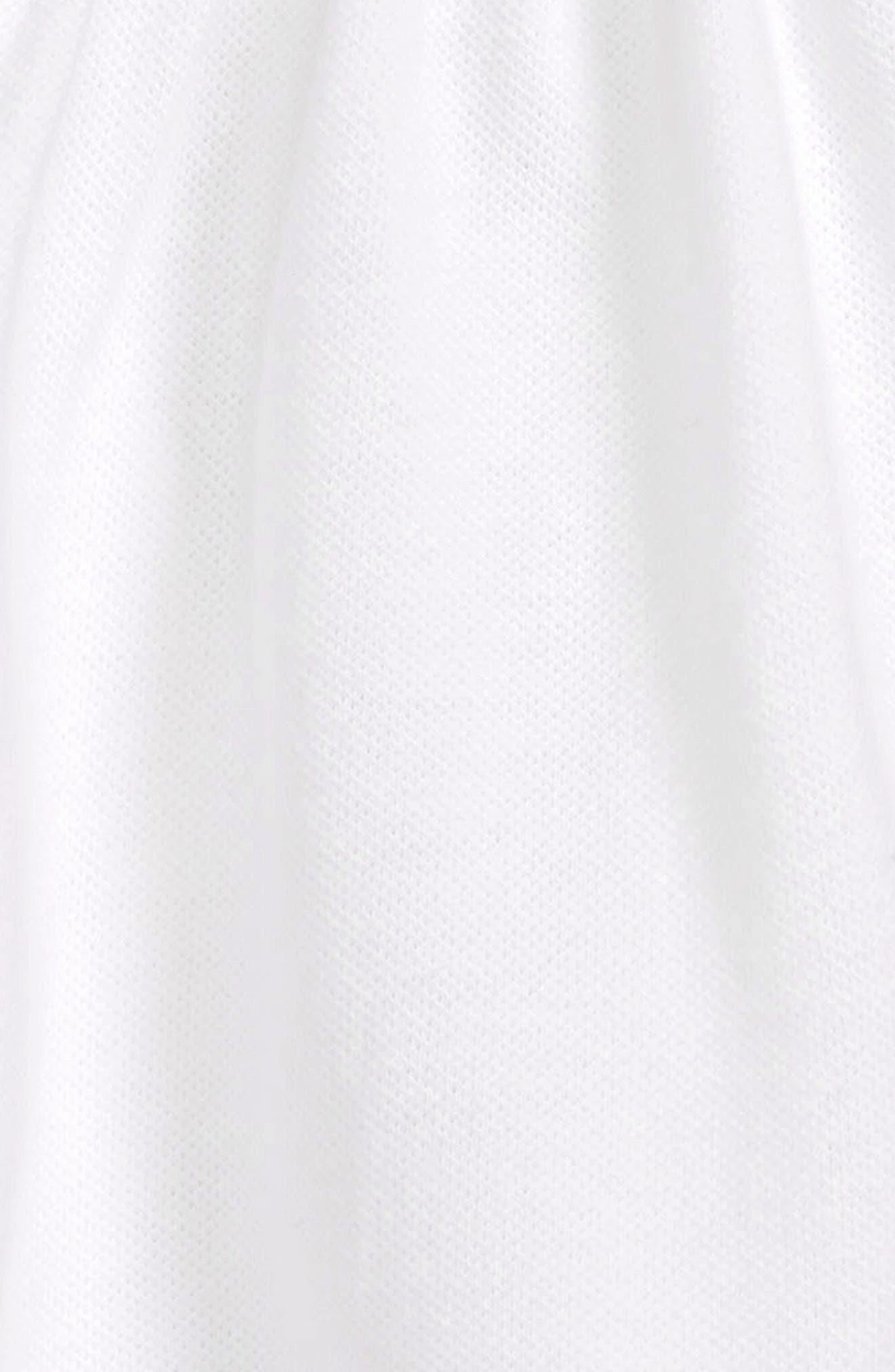 Jen Check Cuff Dress,                             Alternate thumbnail 2, color,                             White