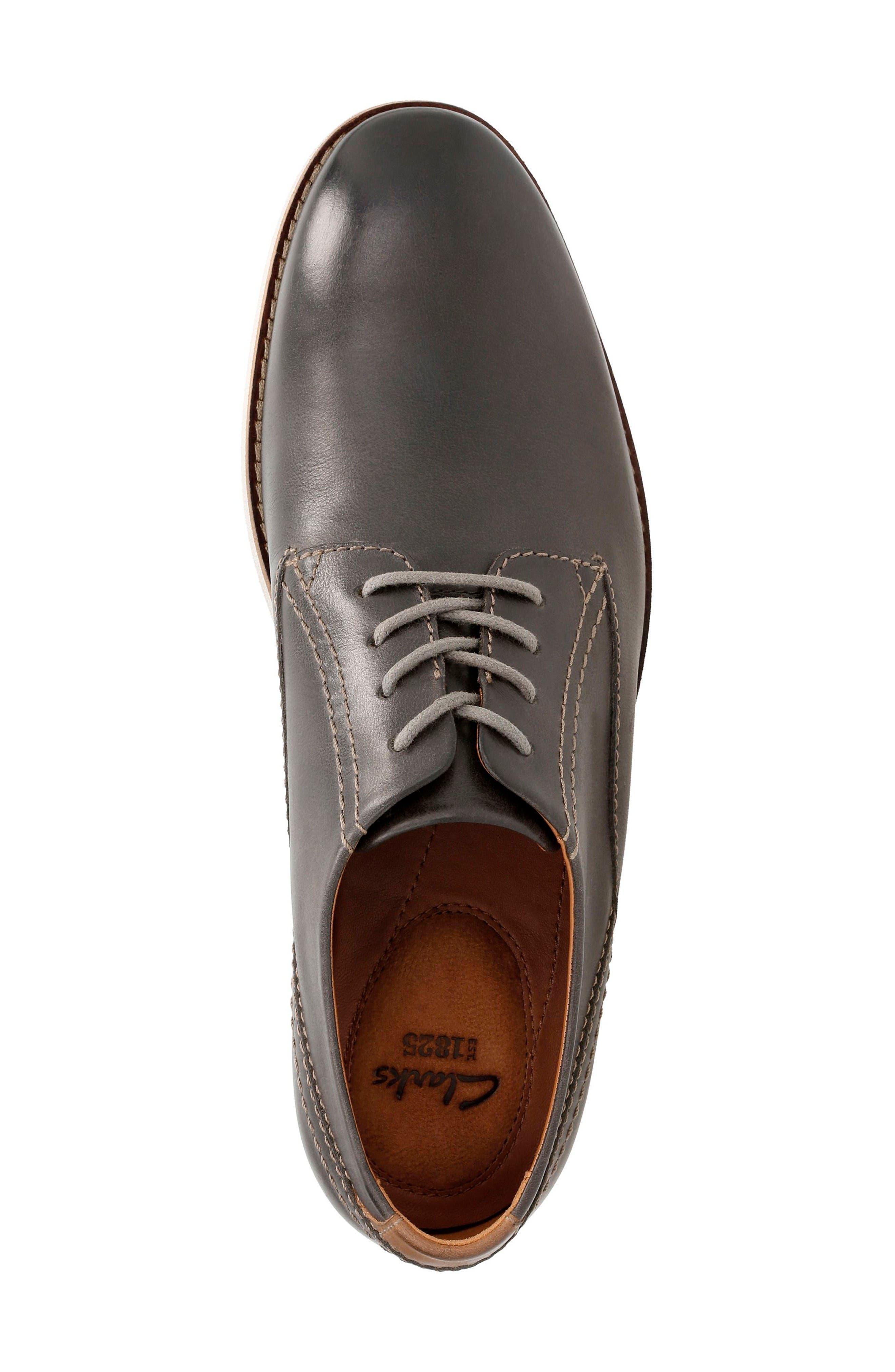 Alternate Image 4  - Clarks® Franson Plain Toe Derby (Men)