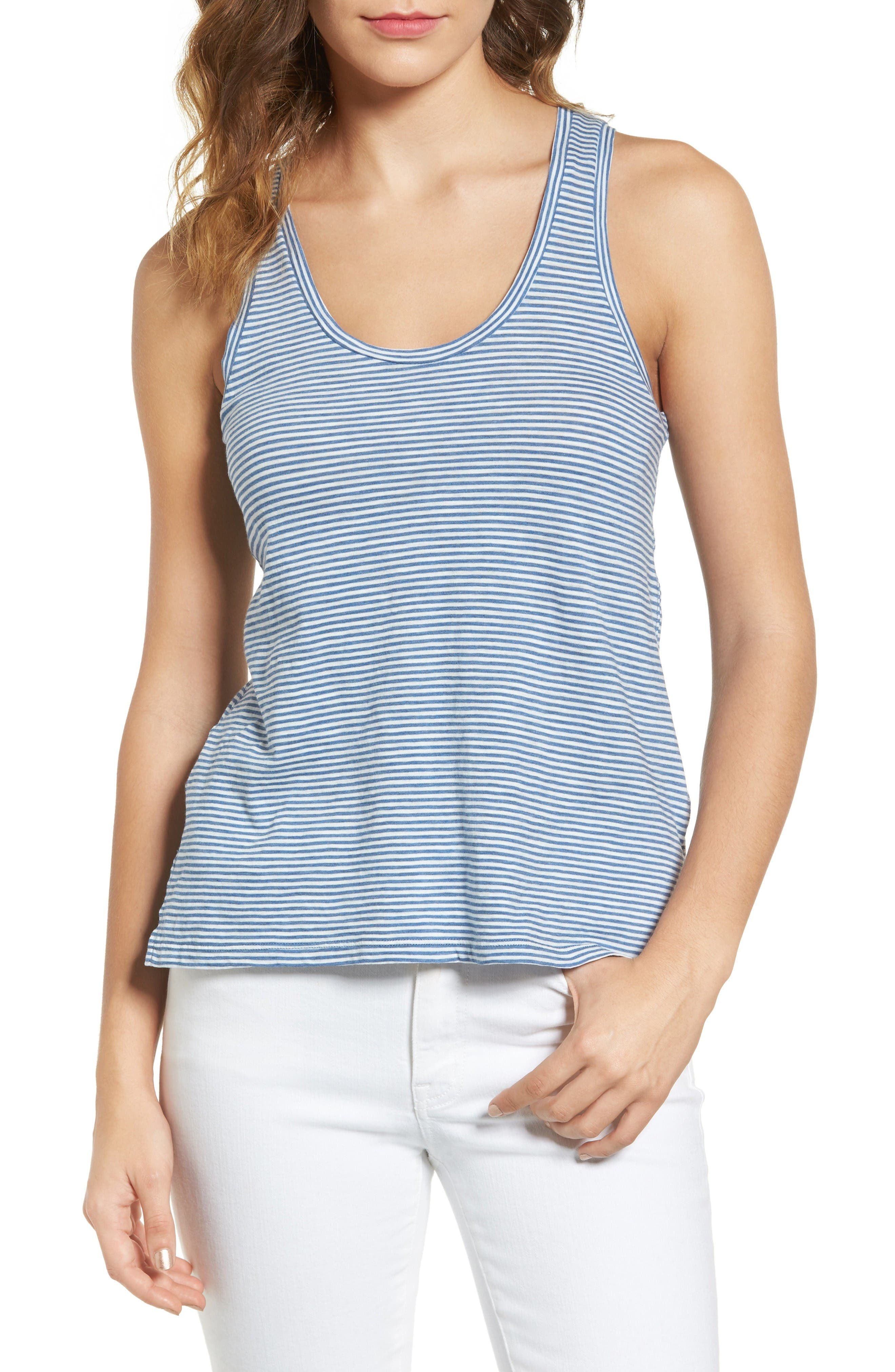 Madewell Stripe Whisper Cotton Tank