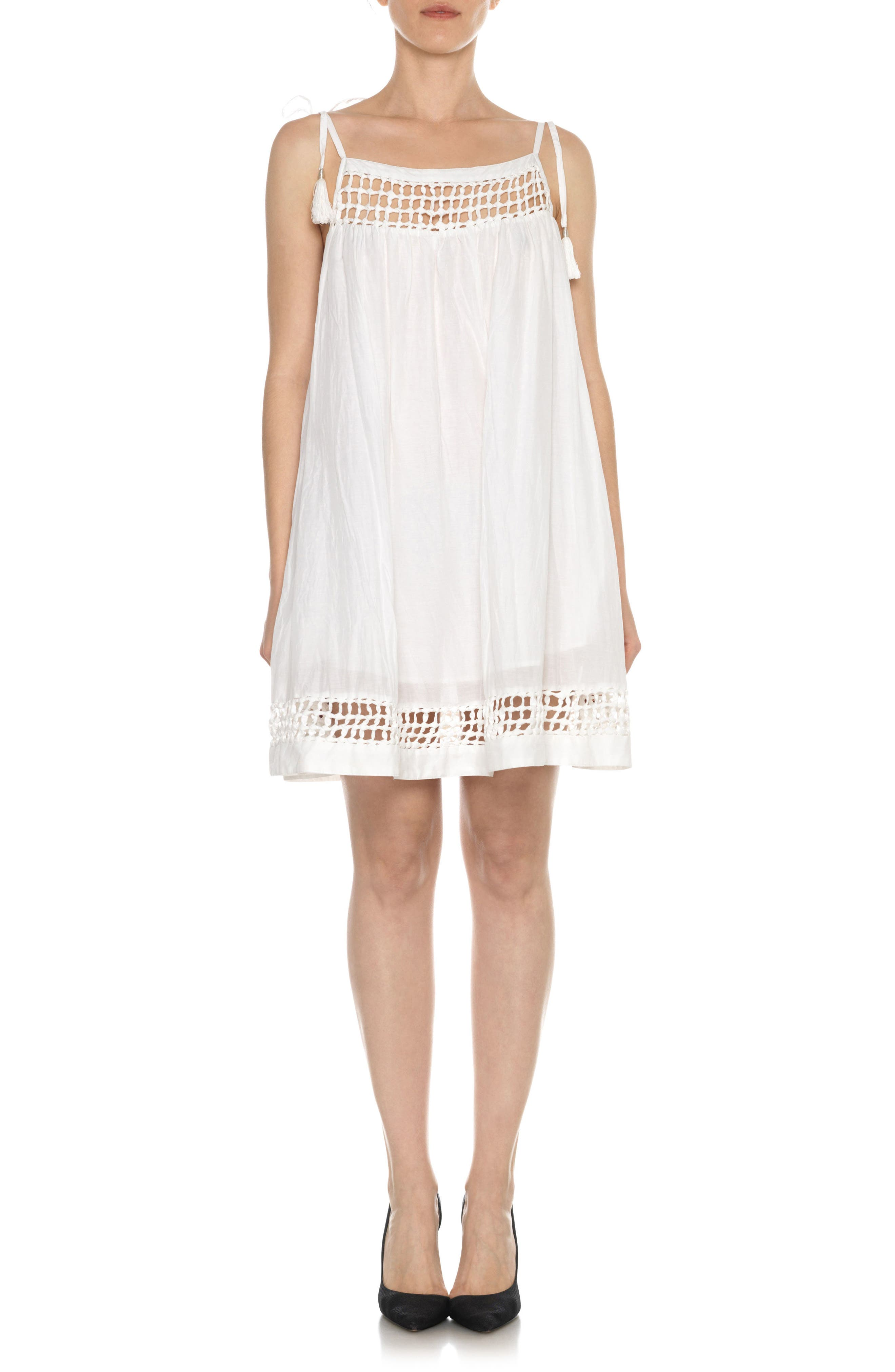 Joe's Layla Cotton & Silk Babydoll Dress