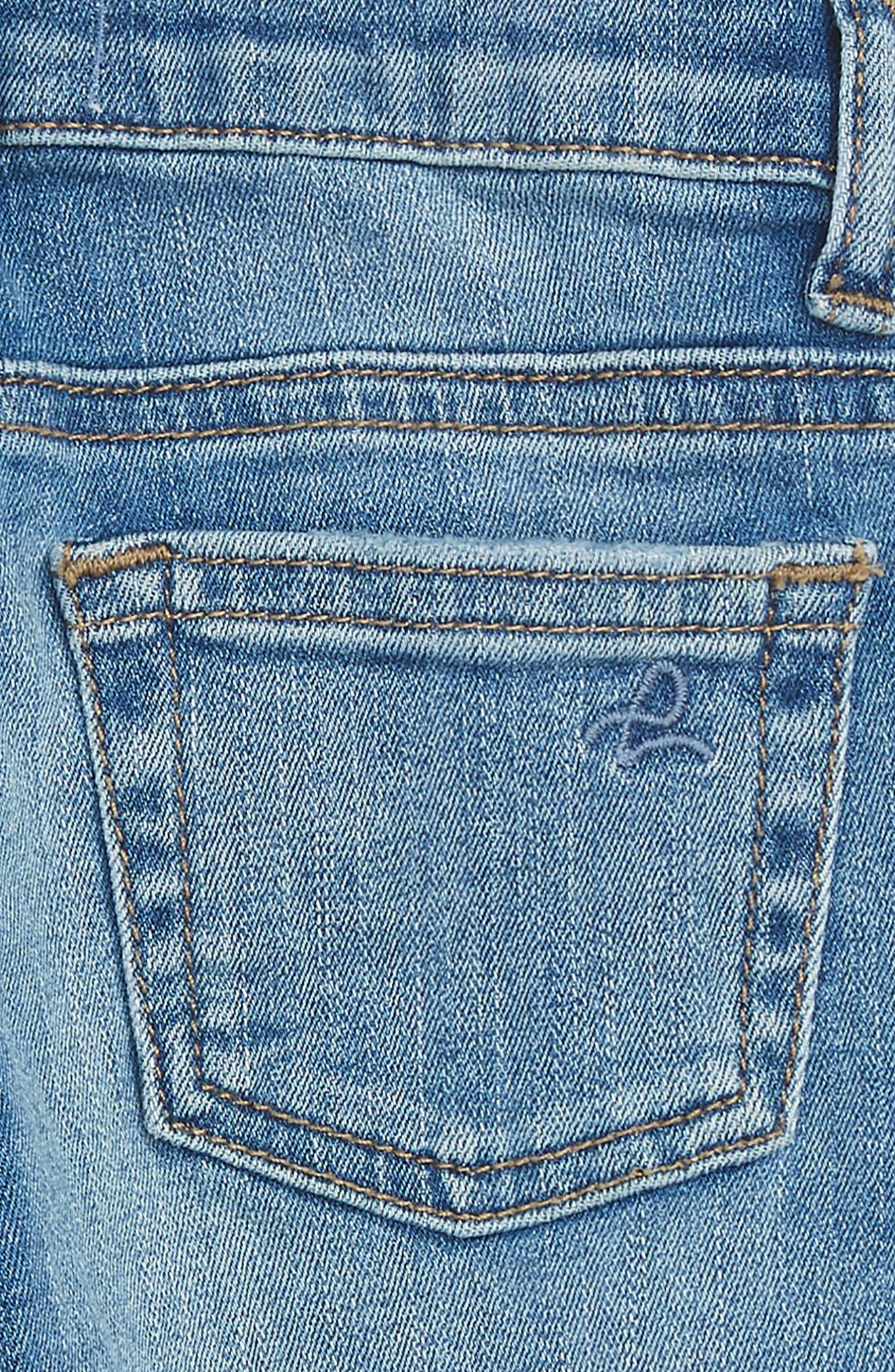 Alternate Image 3  - DL1961 Sophie Slim Fit Jeans (Baby Girls)