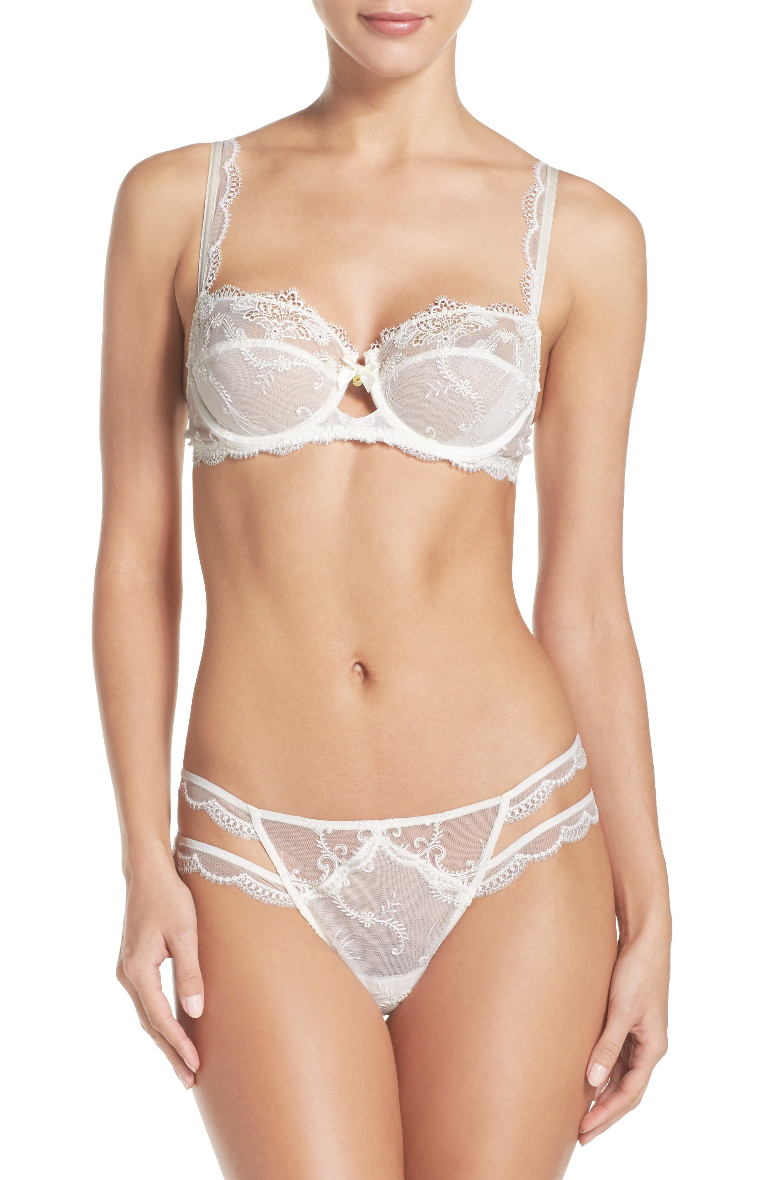 Alternate Image 4  - Epure by Lise Charmel Orchid Paradis Underwire Demi Bra