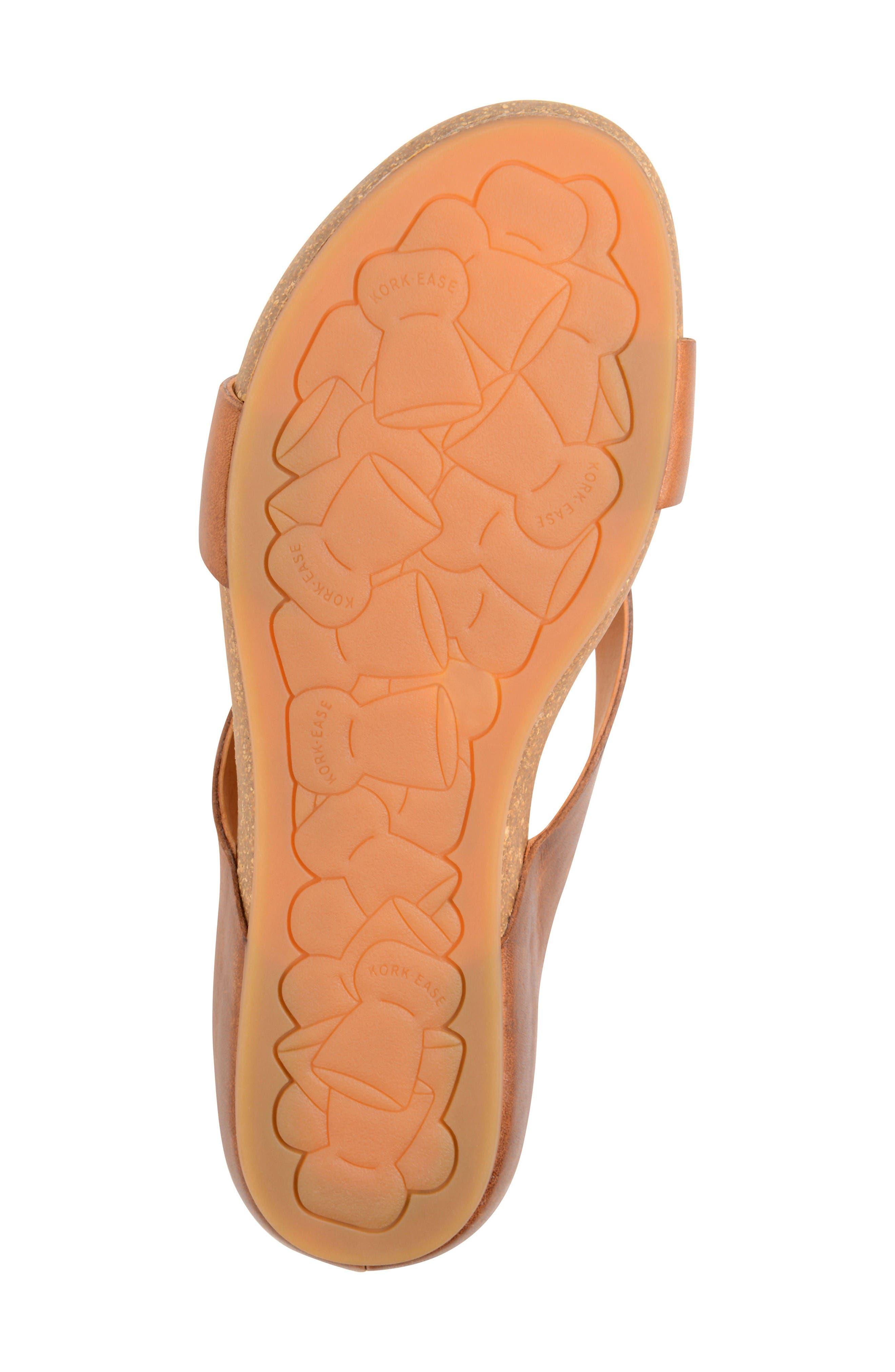 Devoe Sandal,                             Alternate thumbnail 4, color,                             Brown Leather