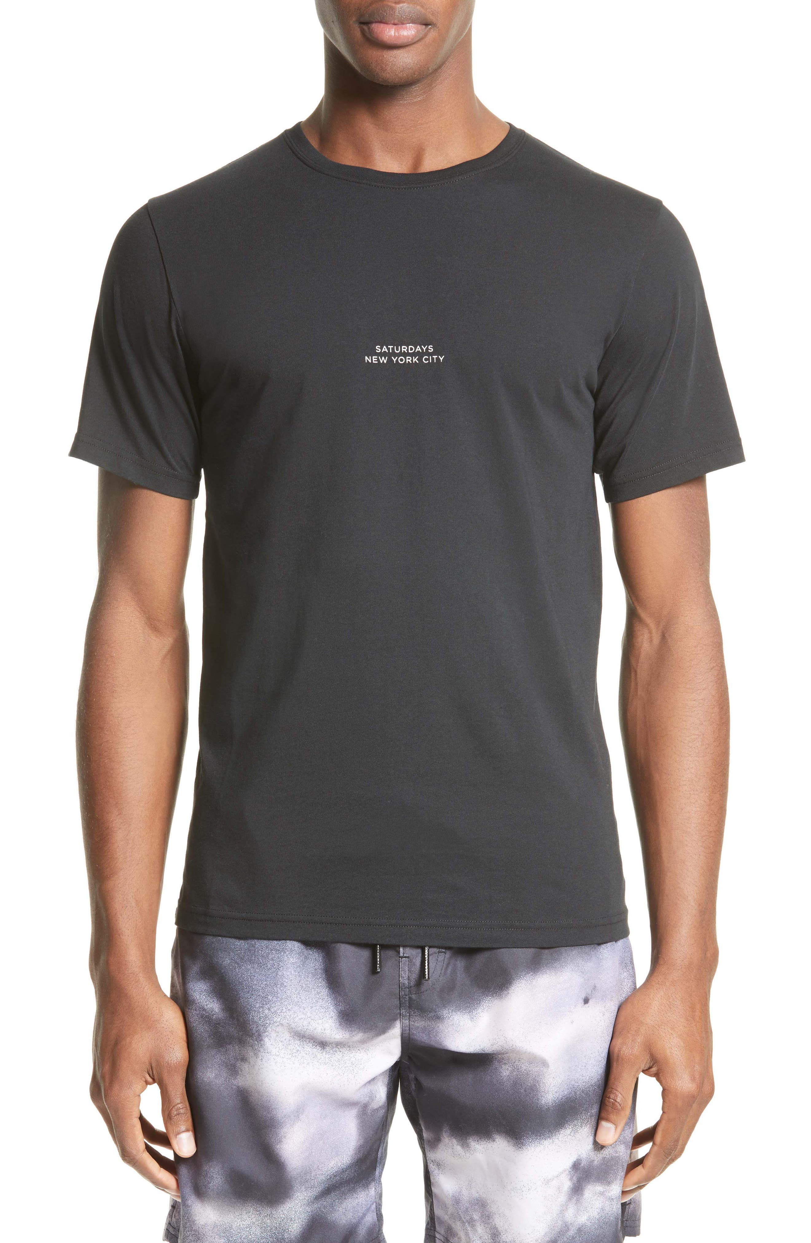Gotham T-Shirt,                         Main,                         color, Black