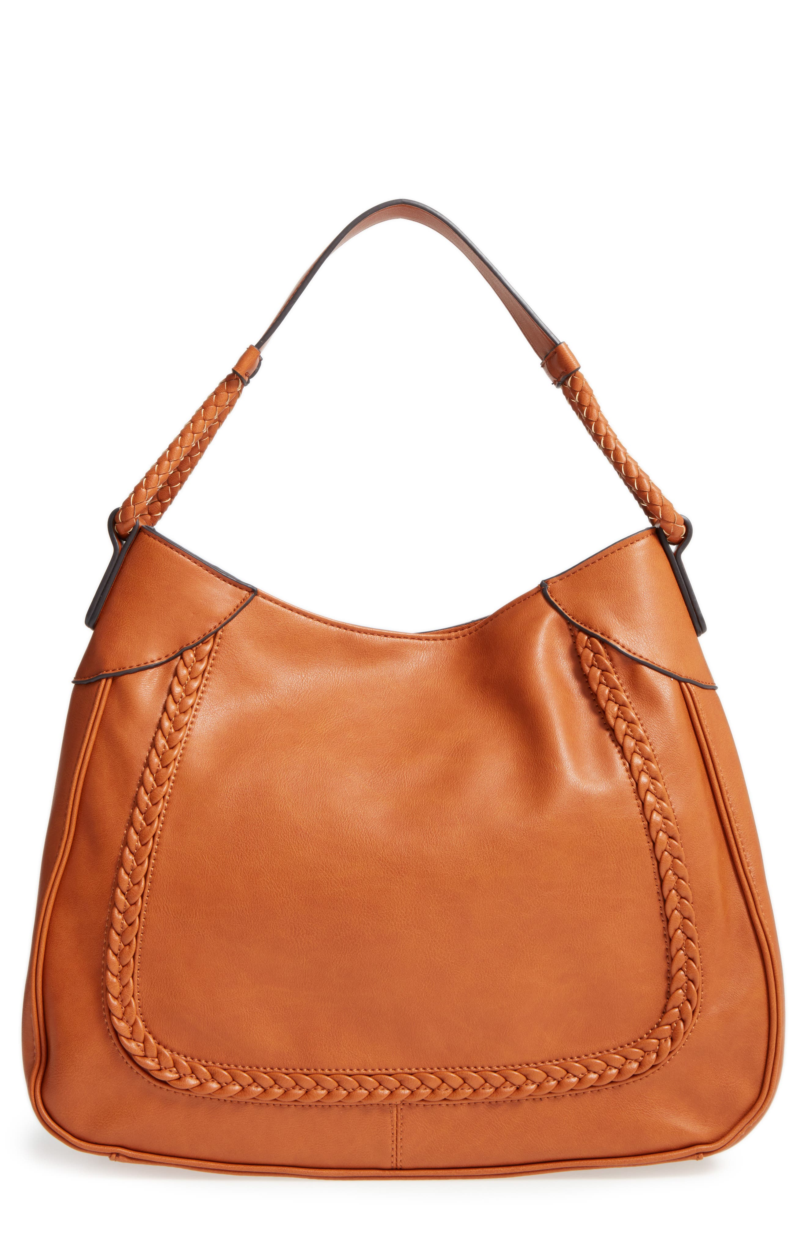 Main Image - Sole Society Rema Faux Leather Shoulder Bag