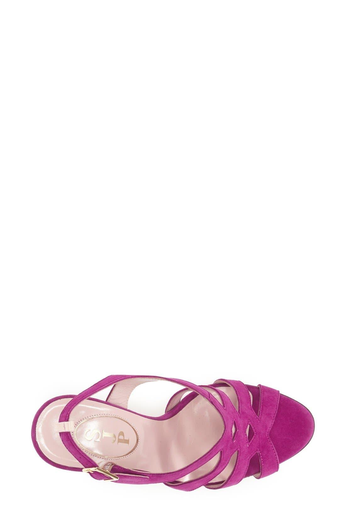 Alternate Image 3  - SJP by Sarah Jessica Parker 'Georgie' Suede Slingback Sandal (Women)