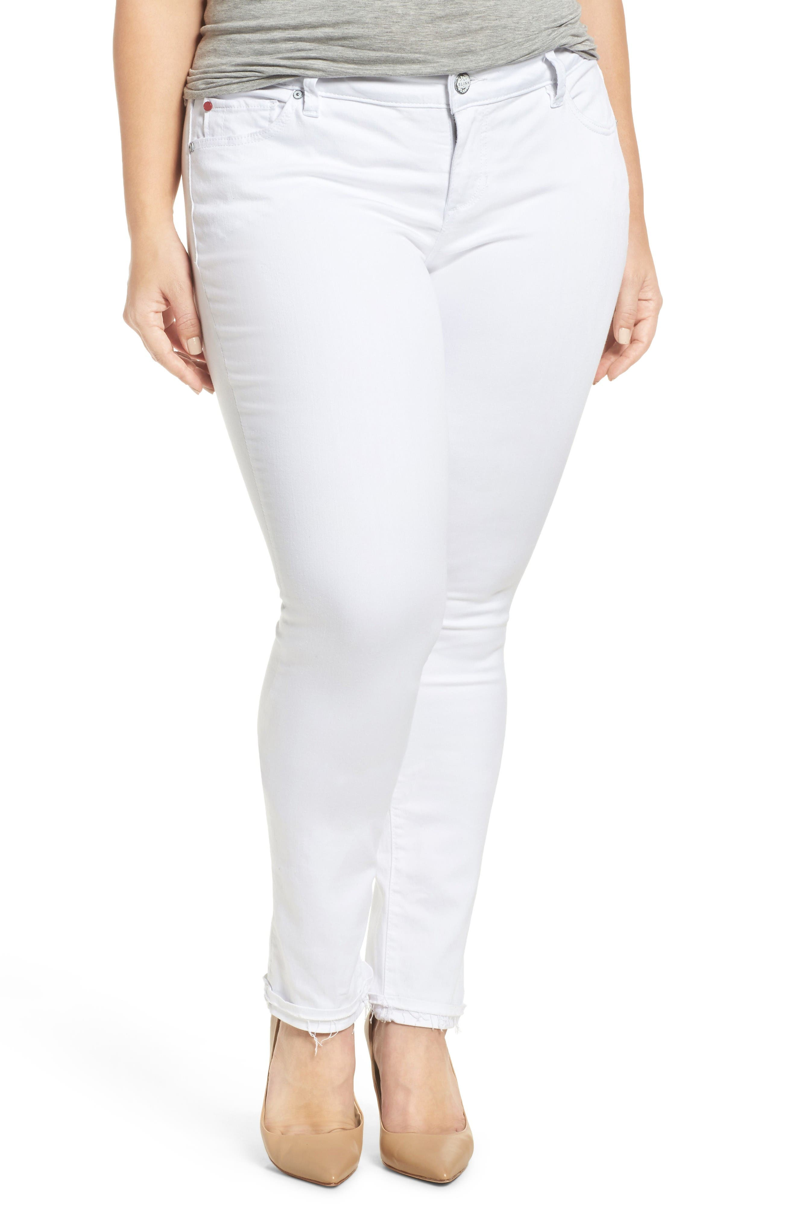Release Hem Skinny Jeans,                             Main thumbnail 1, color,                             Lexy