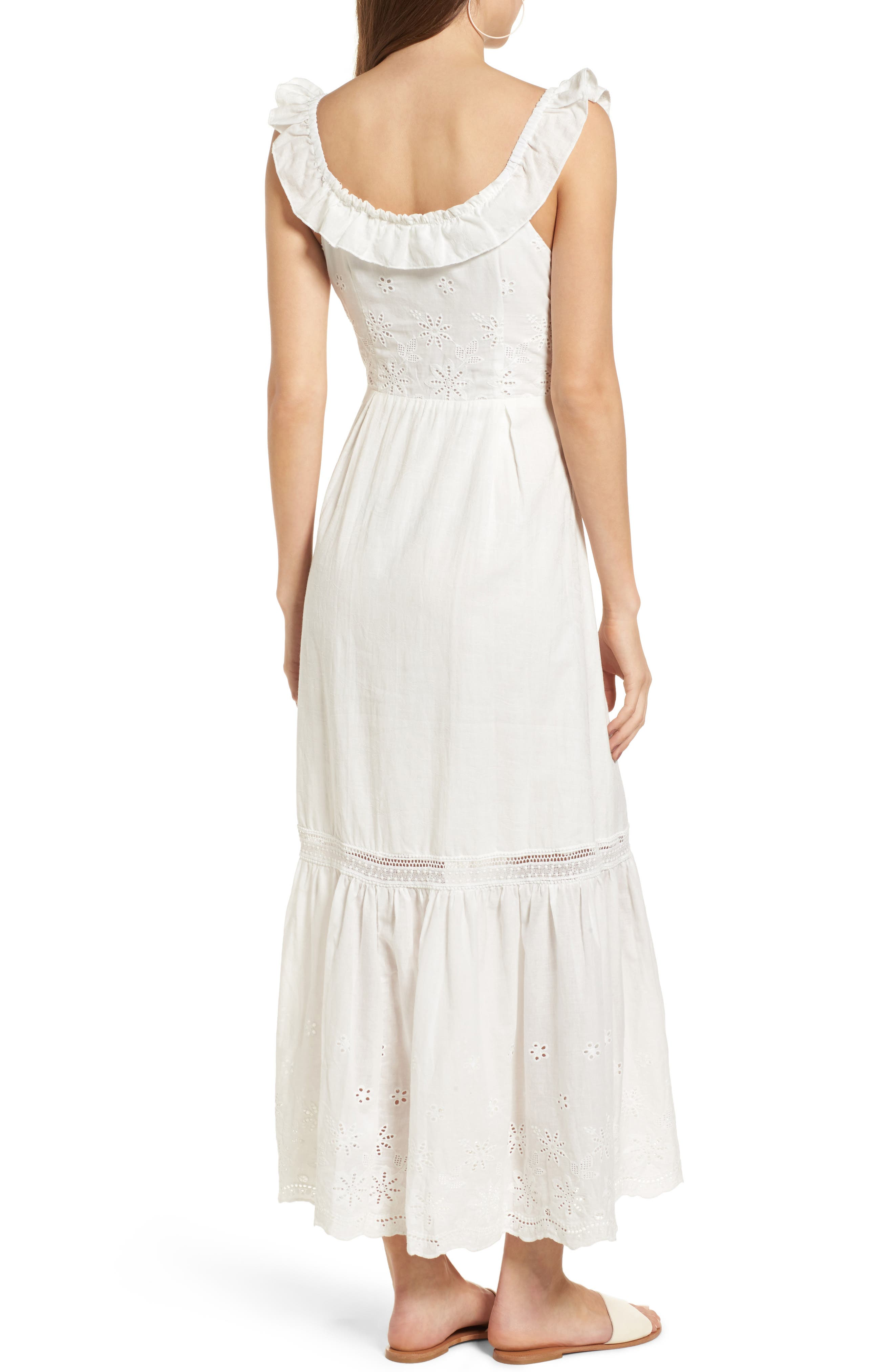 Alternate Image 3  - Somedays Lovin Sky Might Fall Midi Dress