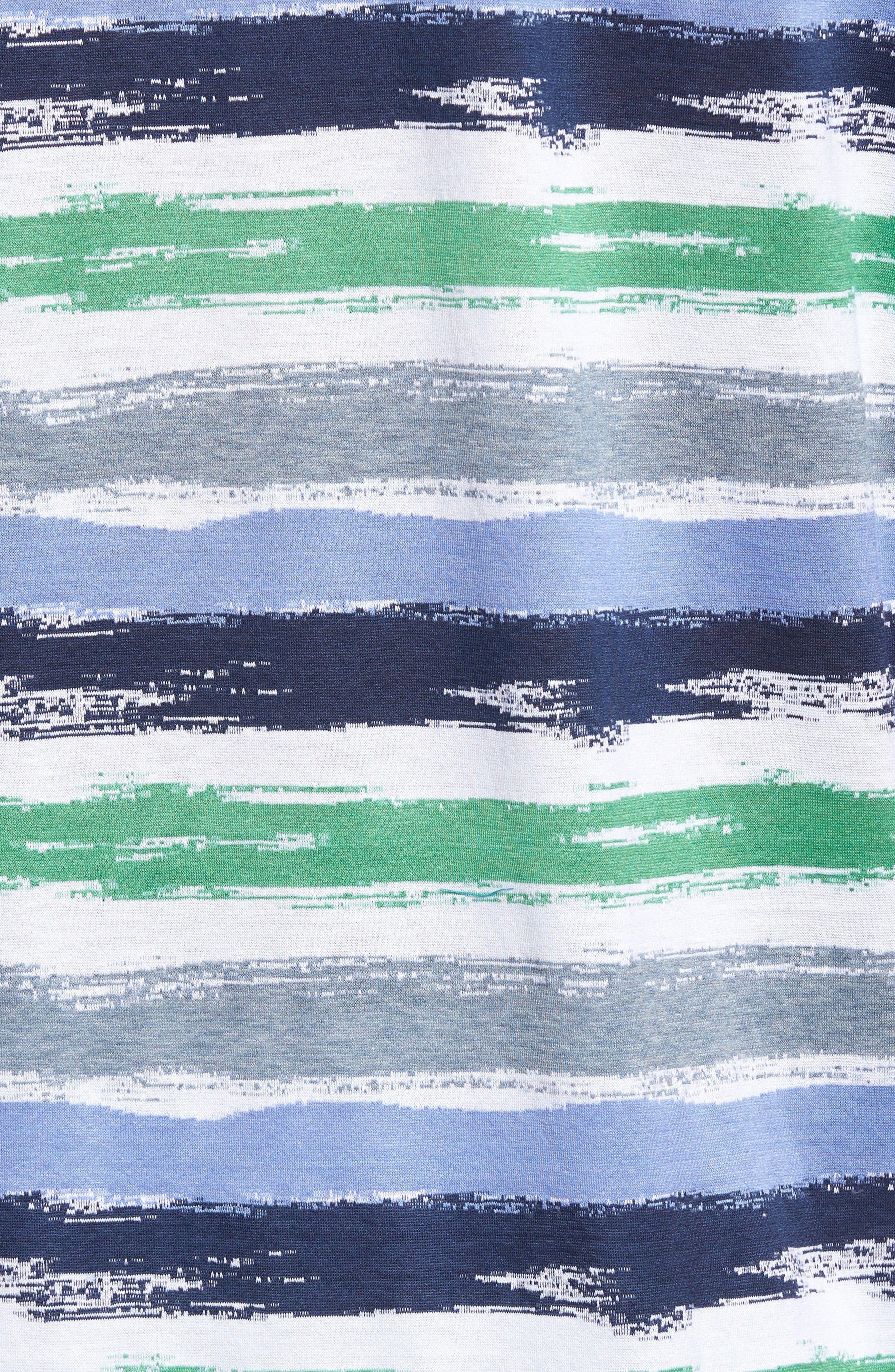 Alternate Image 5  - Bugatchi Brushstroke Stripe Polo