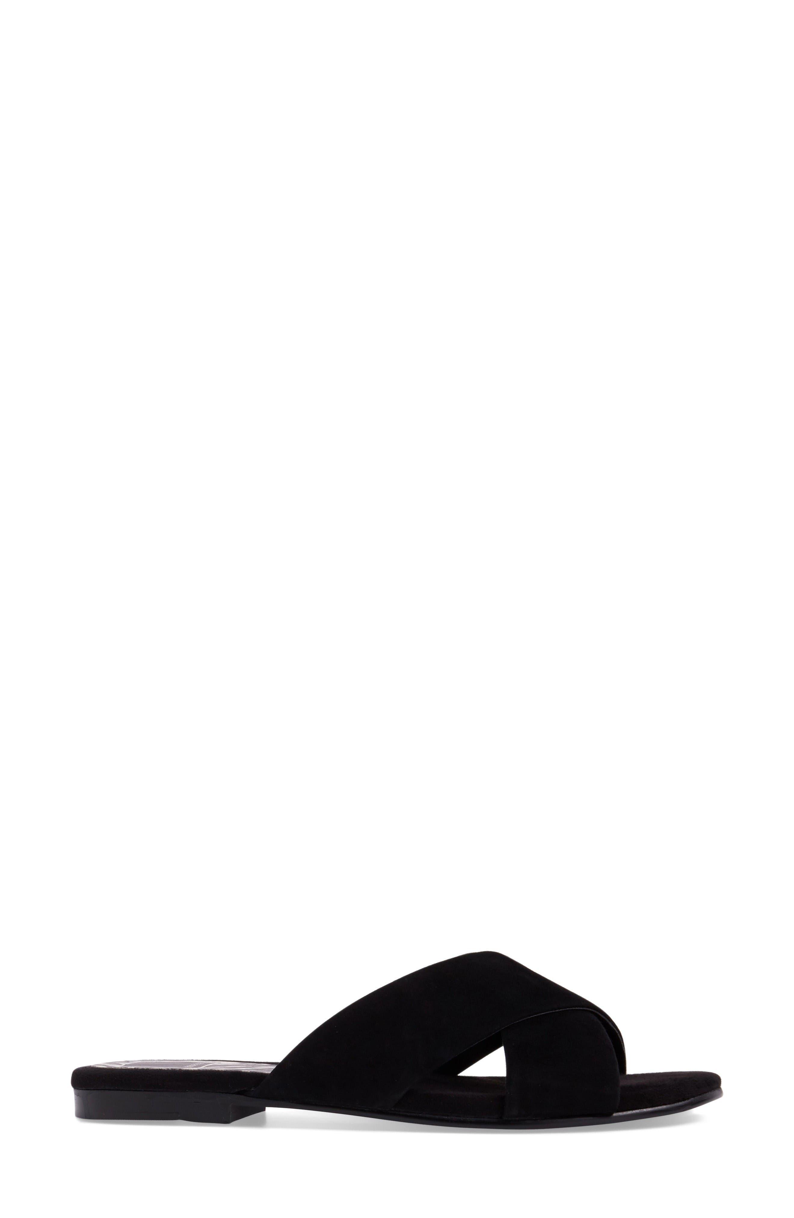 Alternate Image 3  - Dolce Vita Cross Strap Slide Sandal (Women)