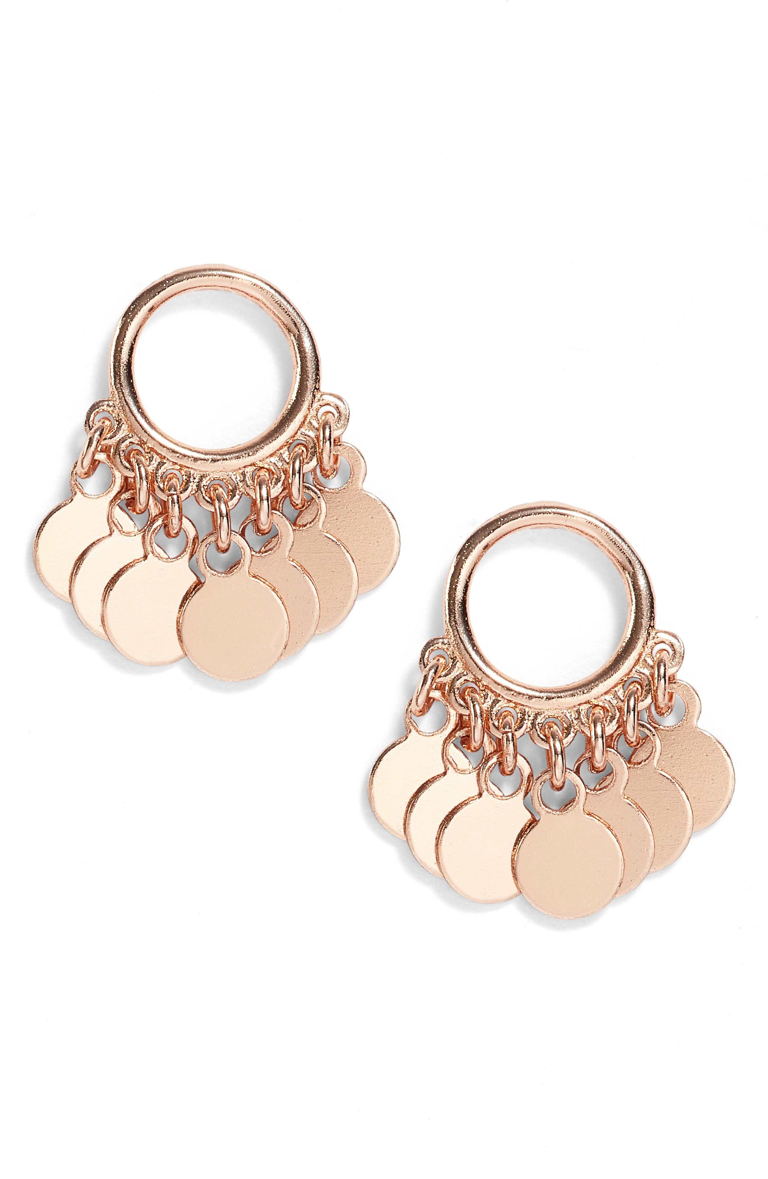 ARGENTO VIVO Vermeil Frontal Drop Earrings