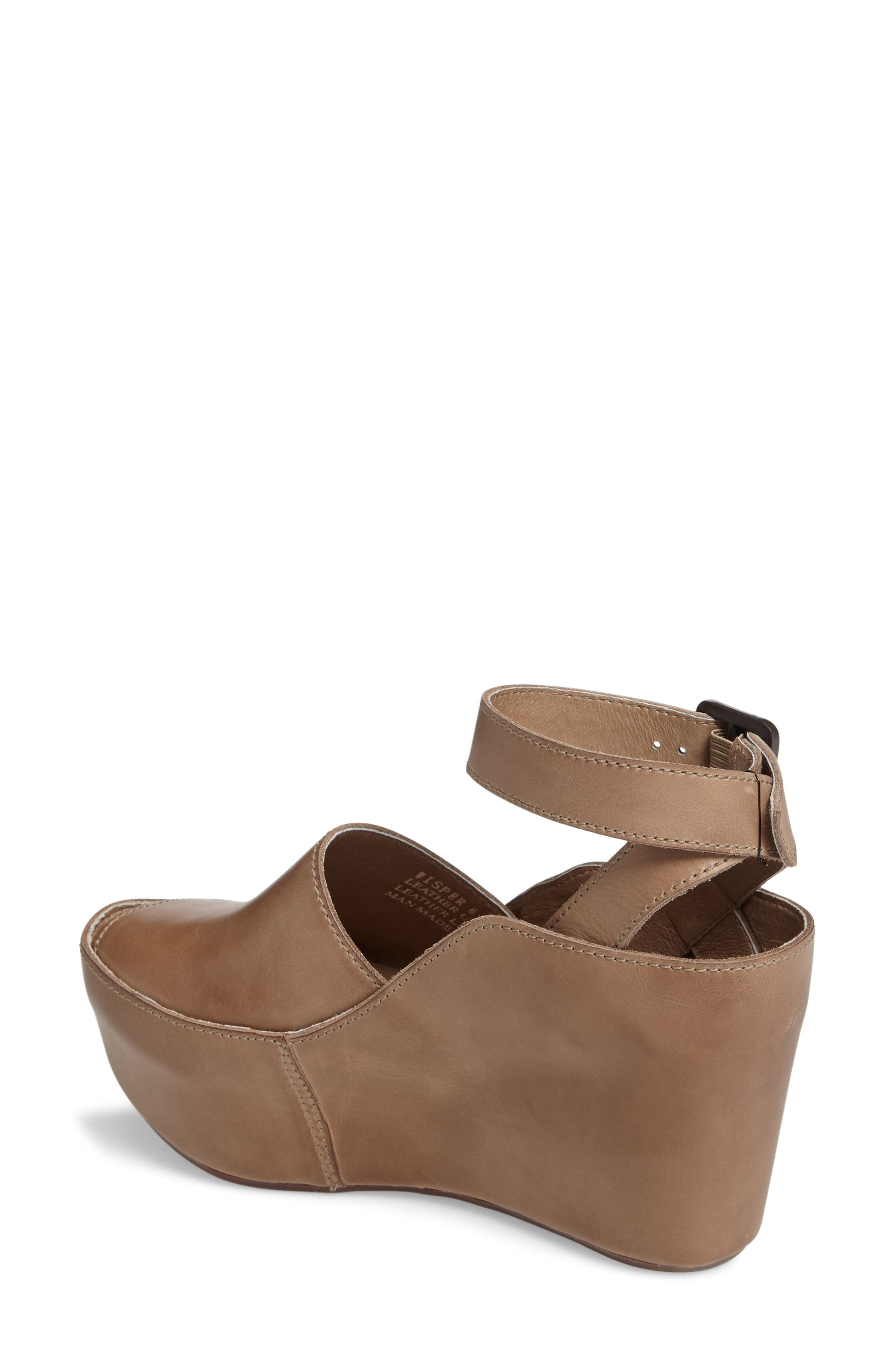 Alternate Image 2  - Chocolat Blu Wisper Wedge Sandal (Women)