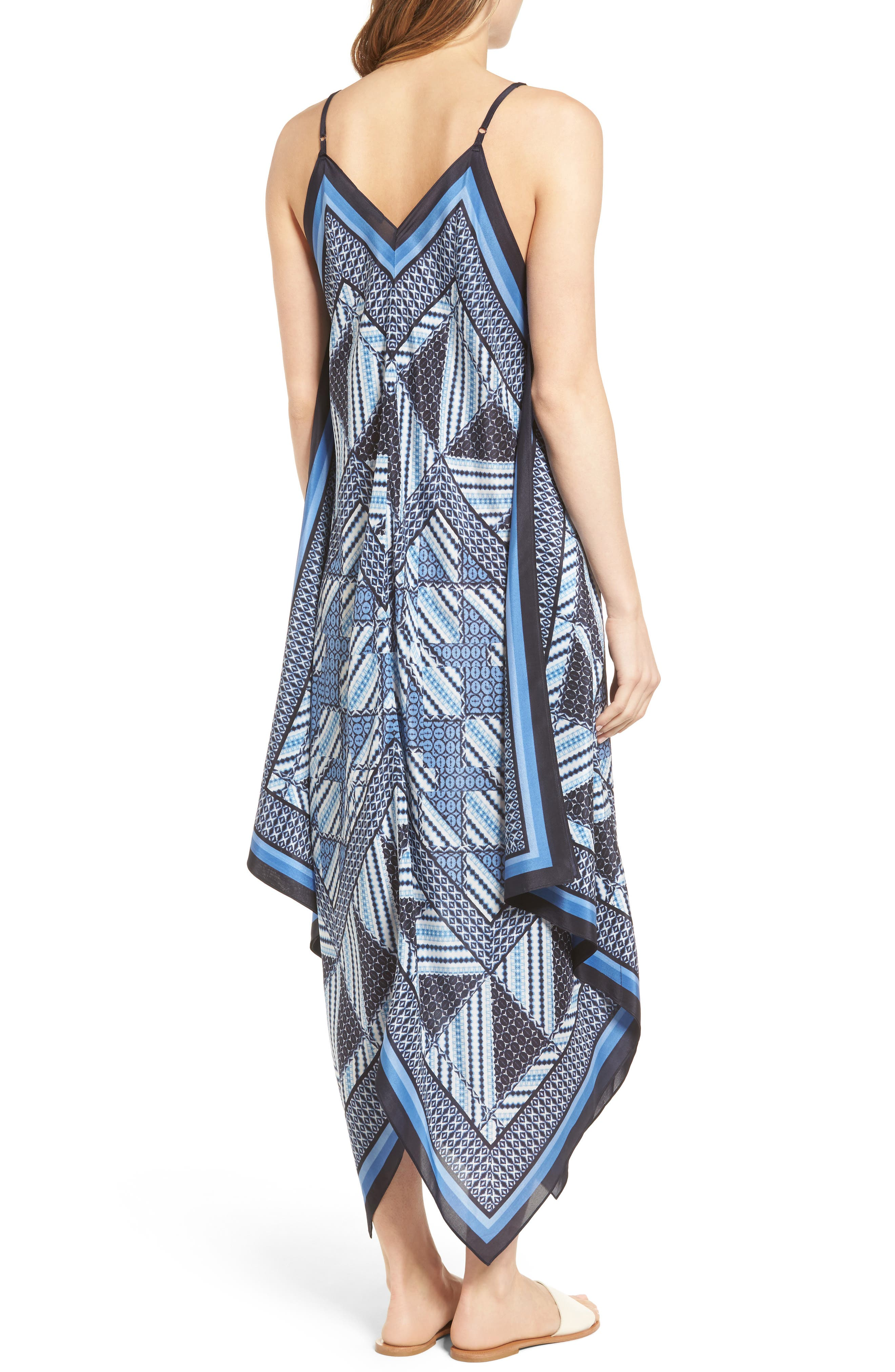 Alternate Image 2  - NIC+ZOE Calypso Silk Blend Maxi Dress (Regular & Petite)