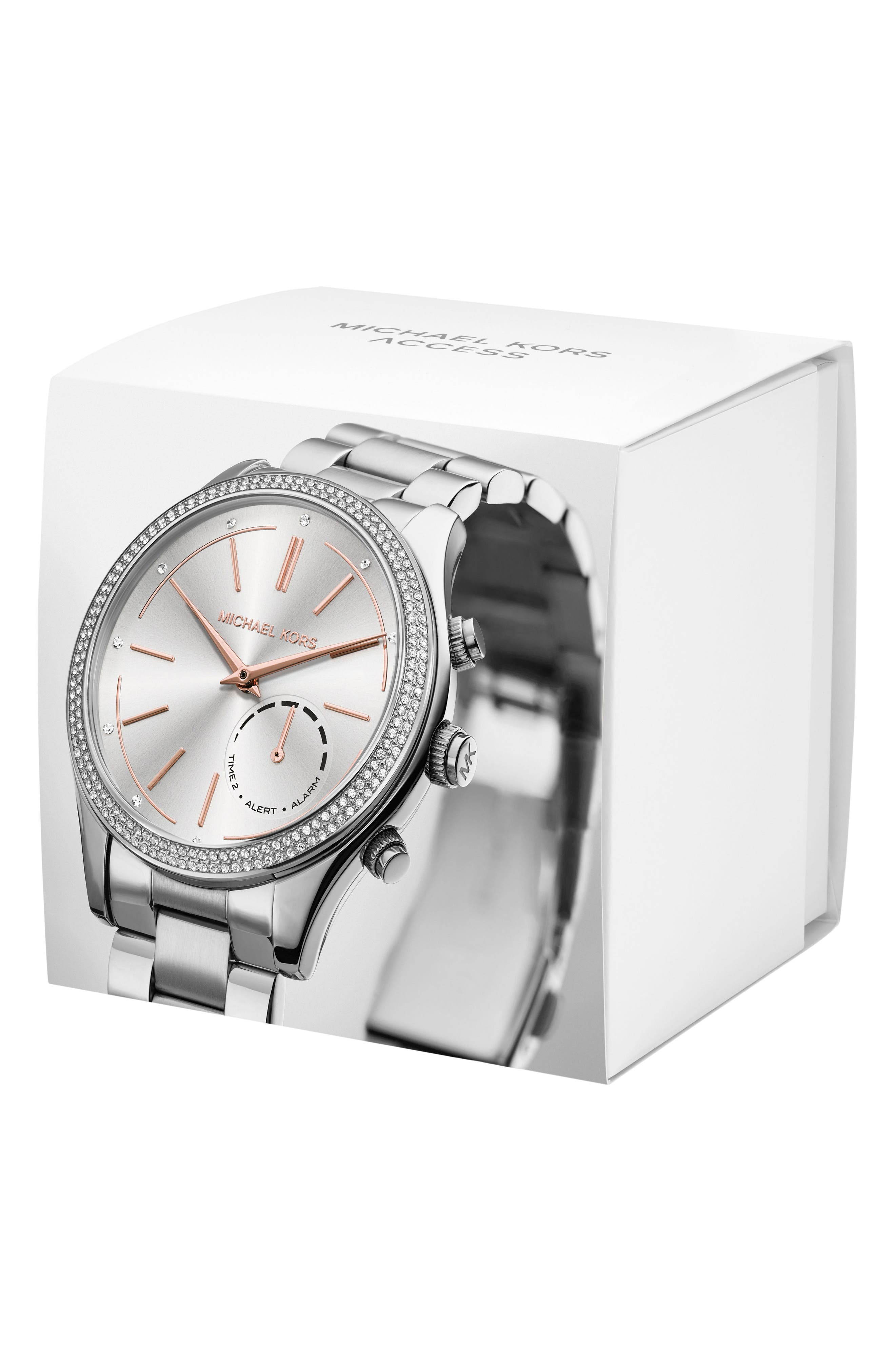 Alternate Image 4  - Michael Kors Access Smart Bracelet Watch, 42mm