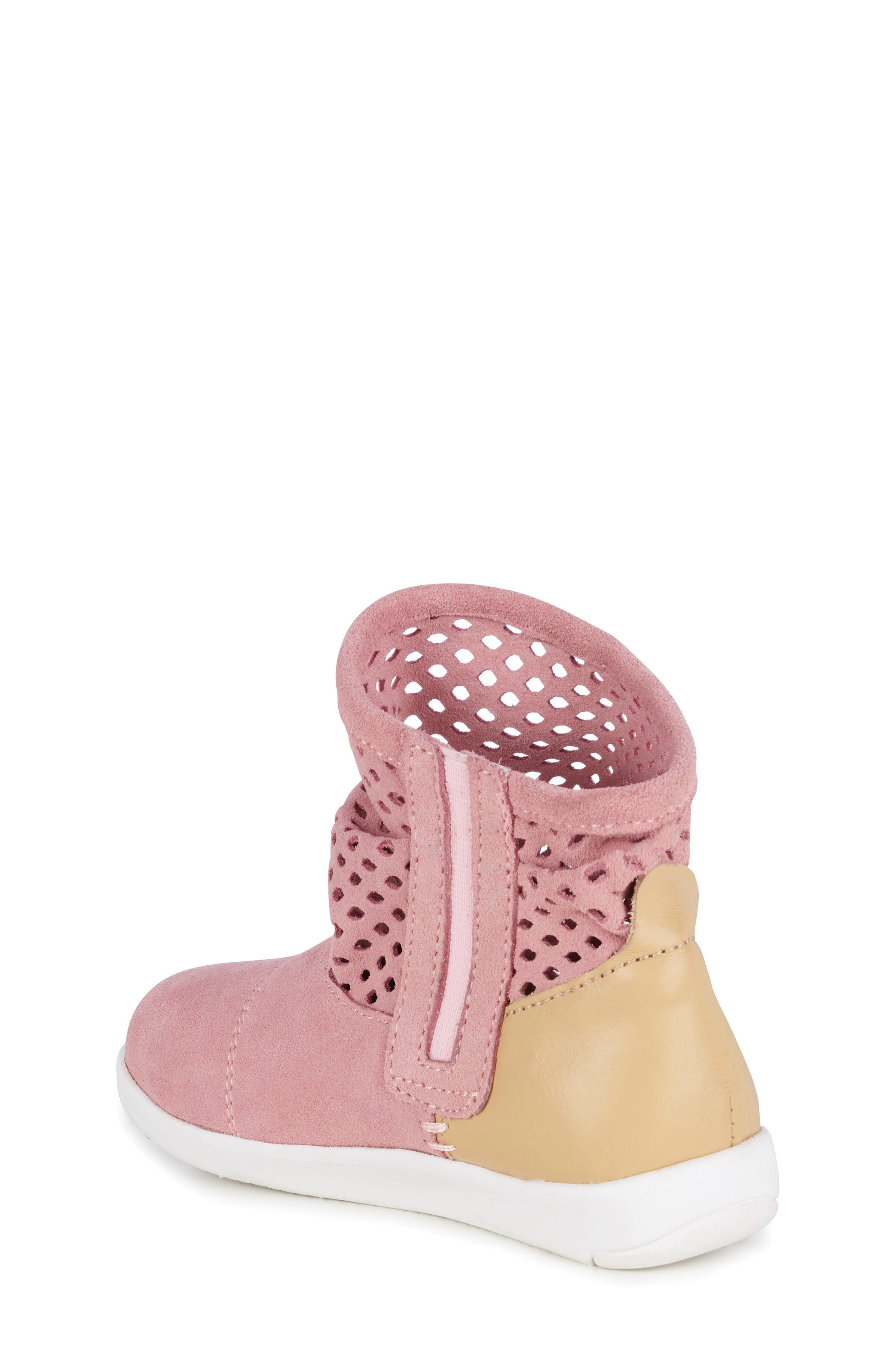 Numeralla Boot,                             Alternate thumbnail 2, color,                             Pale Pink Suede