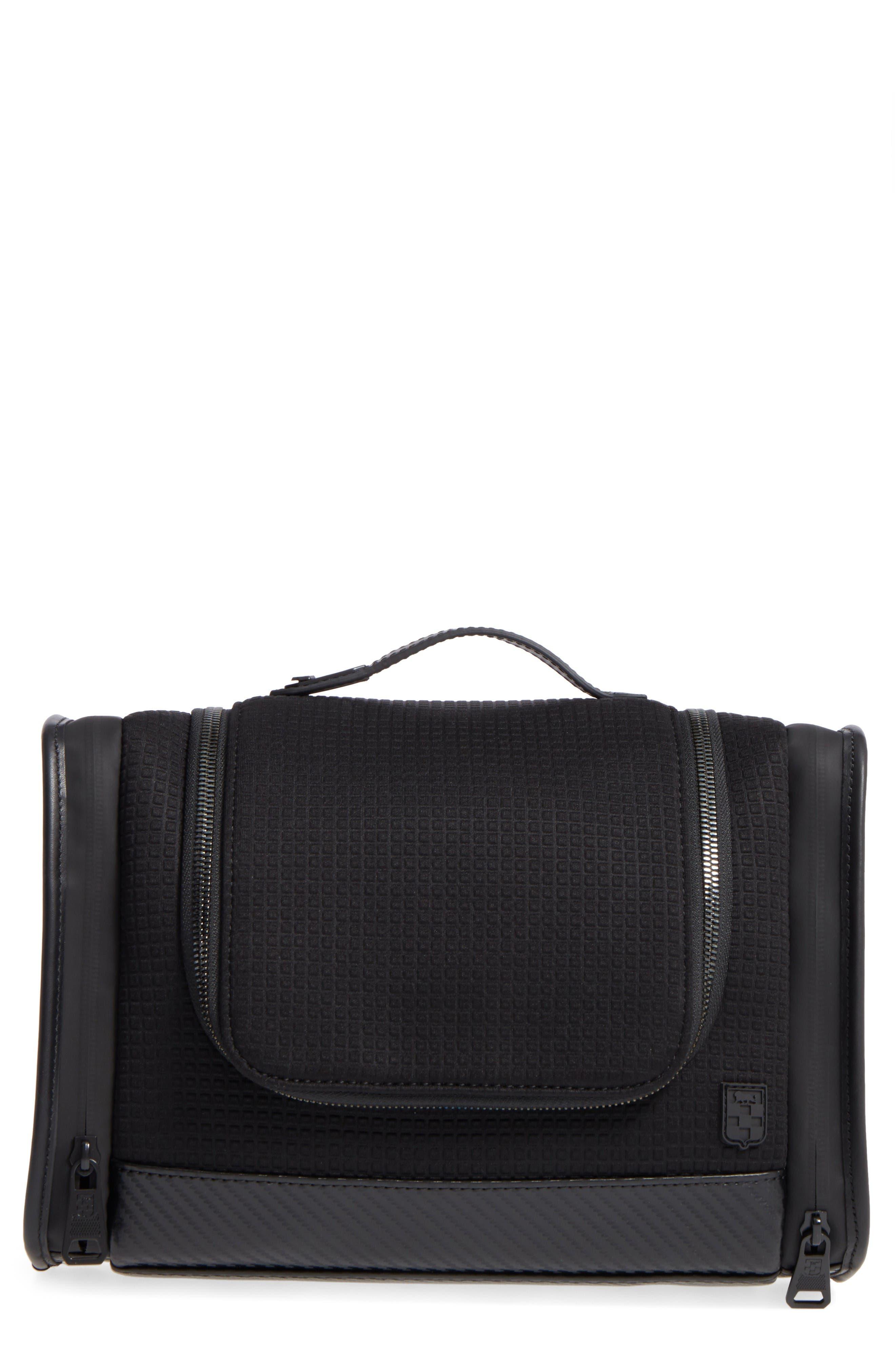 Wafa Travel Kit,                         Main,                         color, Black/ Black/ Black