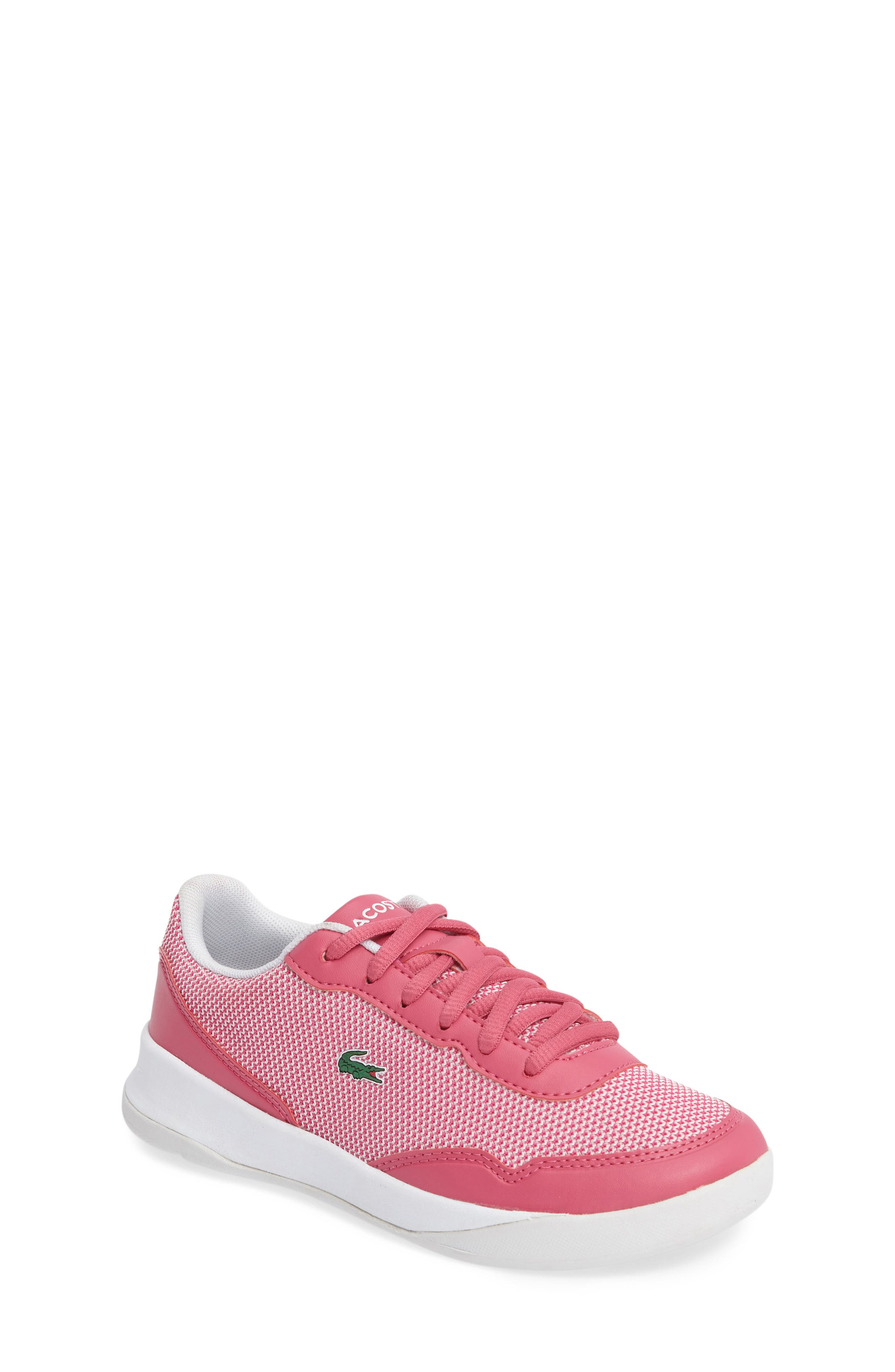 Lacoste LT Spirit Woven Sneaker (Toddler & Little Kid)