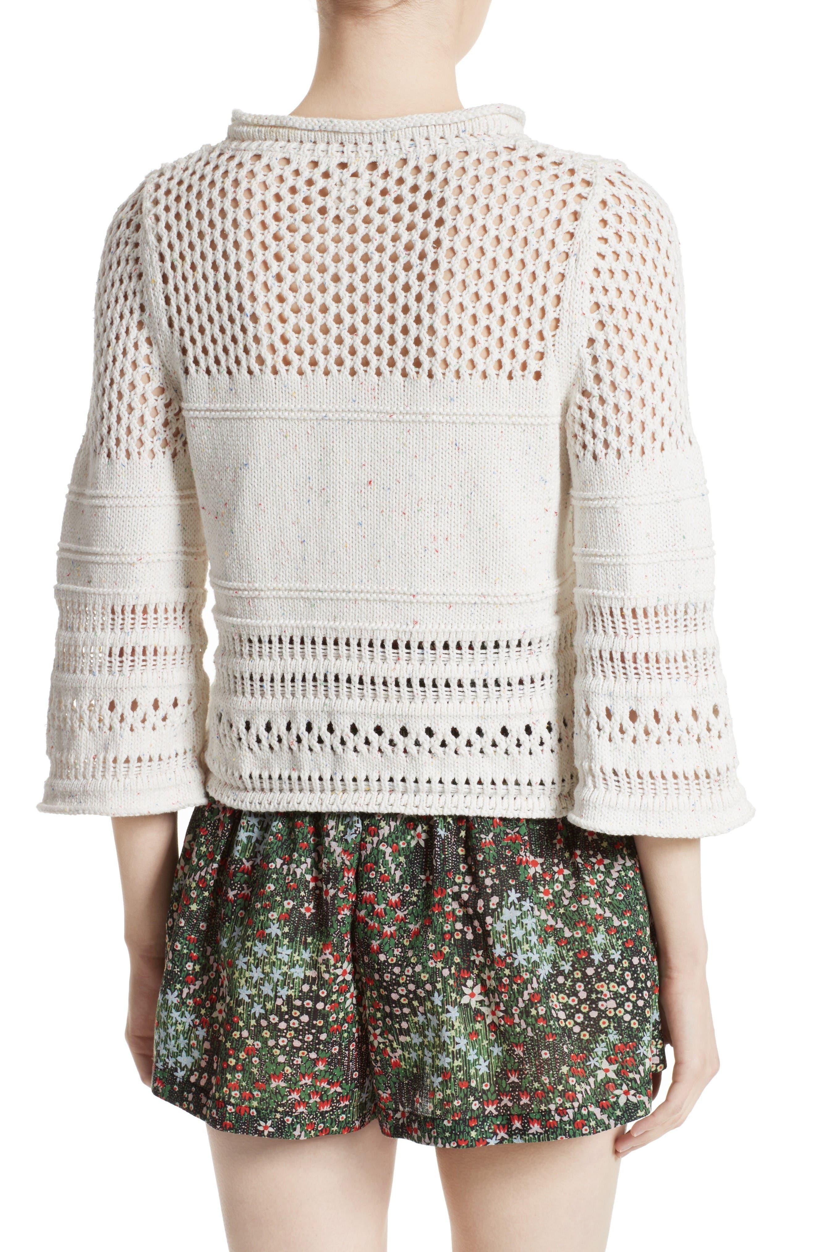 Alternate Image 2  - La Vie Rebecca Taylor Confetti Knit Pullover