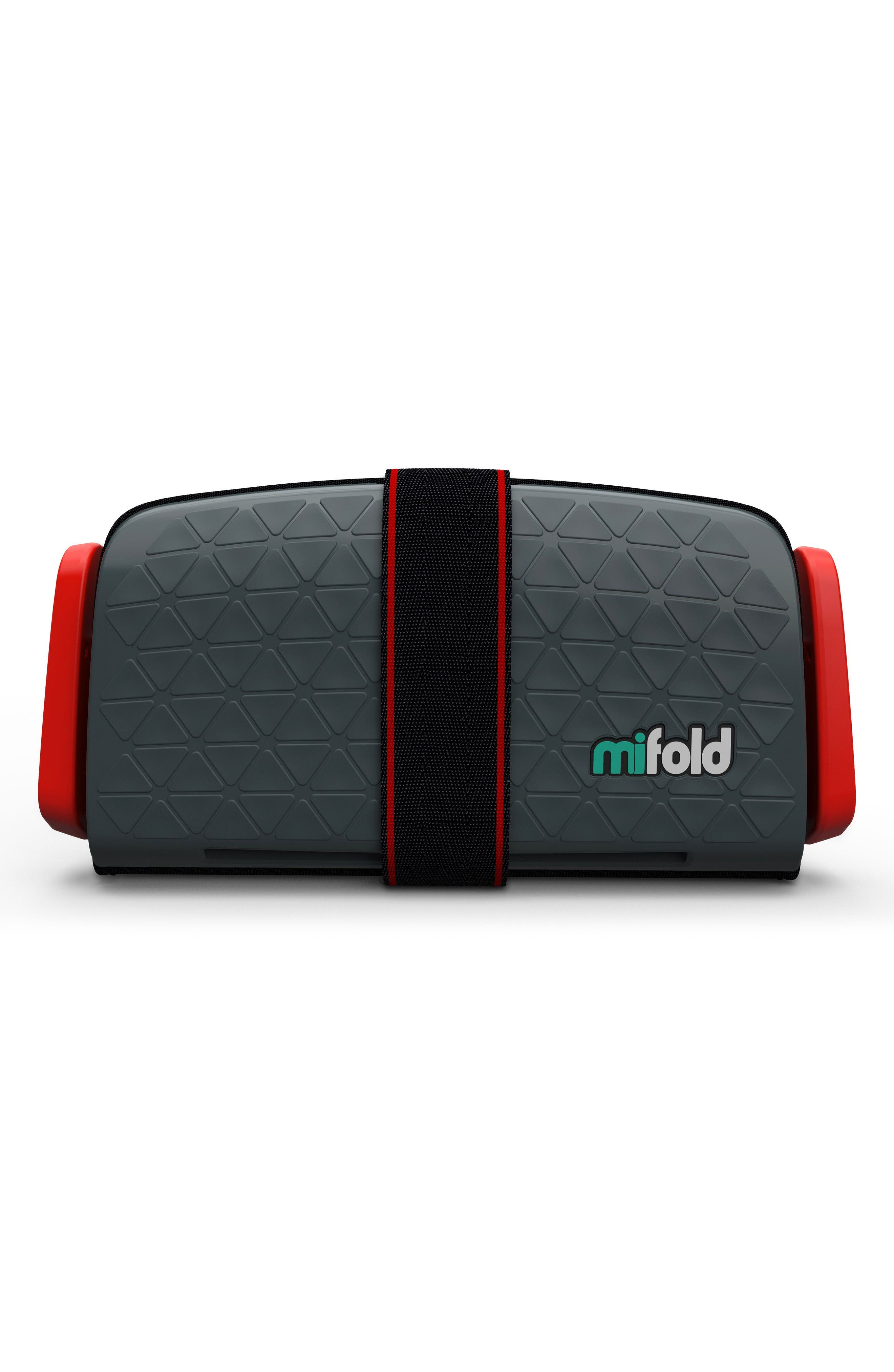 Grab-and-Go Car Booster Seat,                             Main thumbnail 1, color,                             Slate Grey