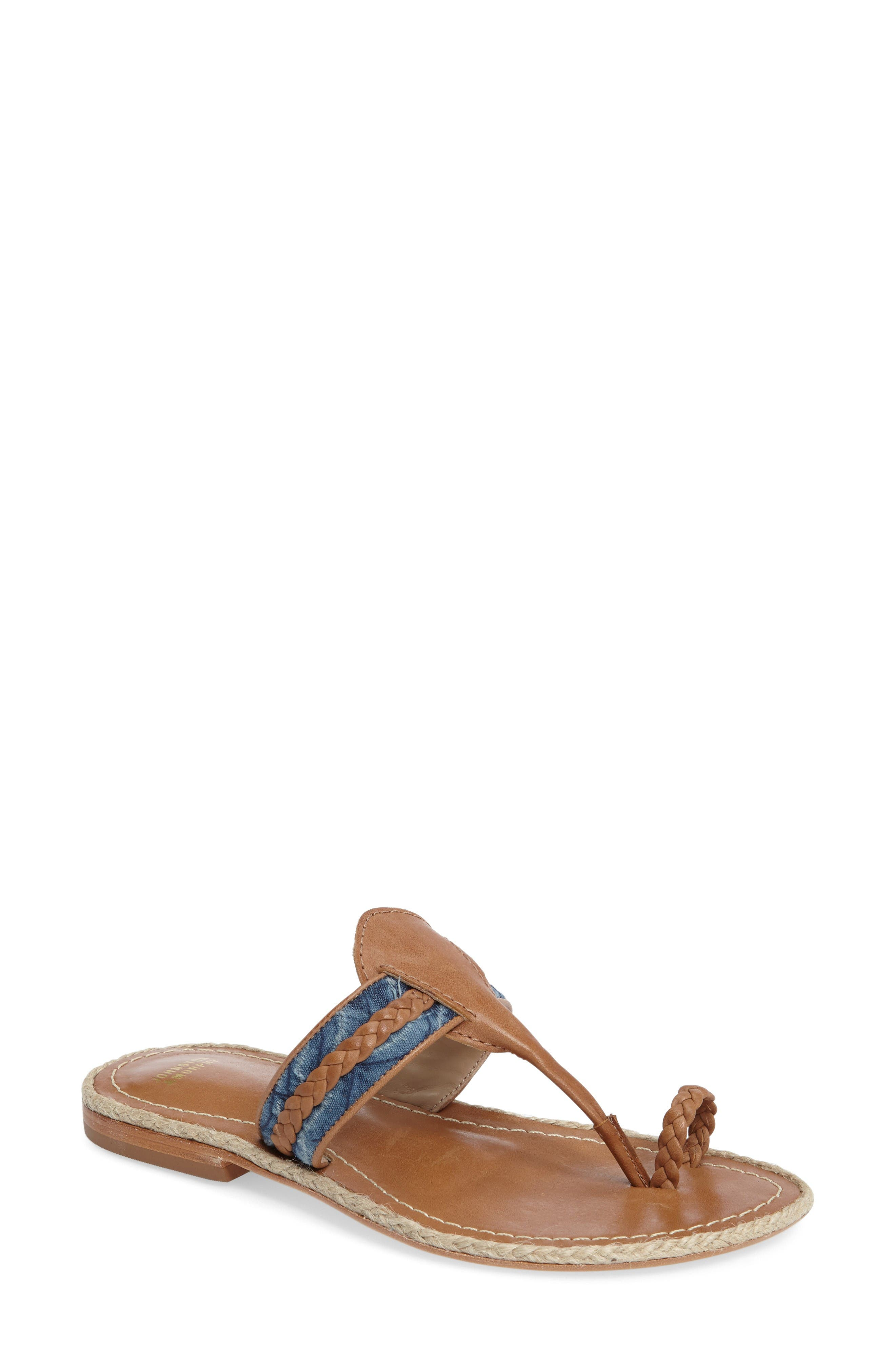 Wendy Sandal,                         Main,                         color, Tan Leather