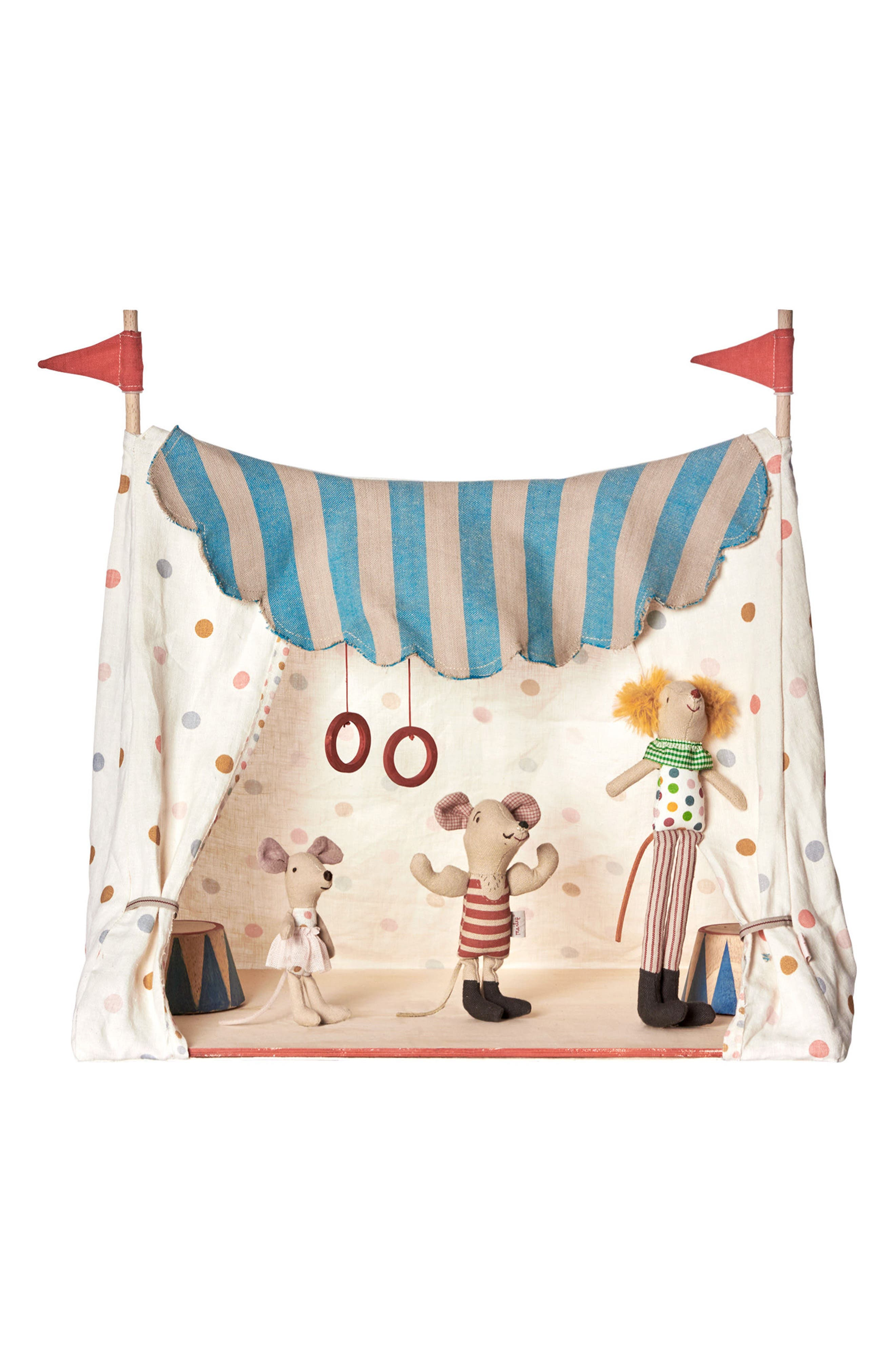 Maileg Circus Mice in a Tent