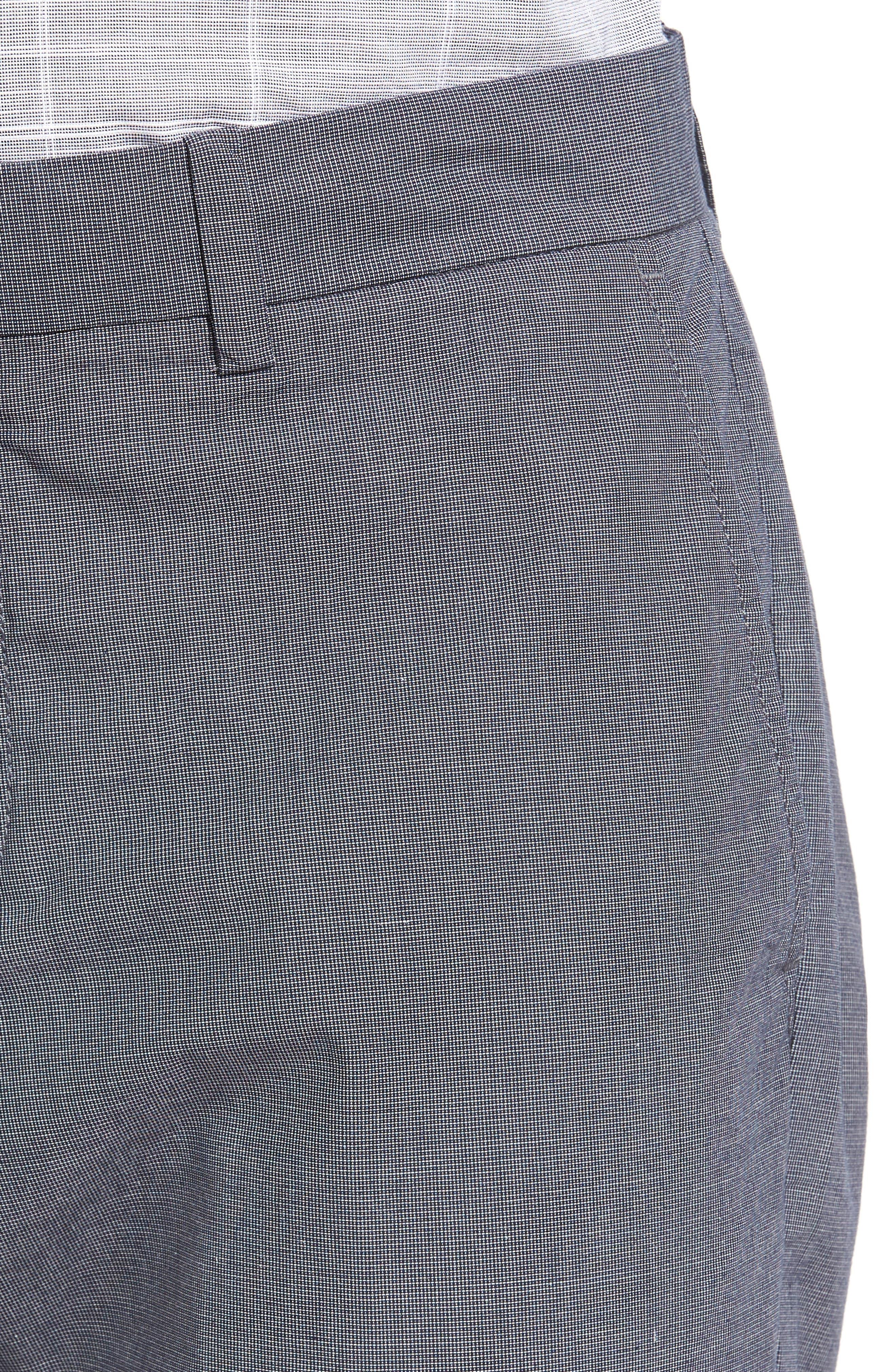 Alternate Image 4  - Original Penguin Crosshatch Slub Trousers