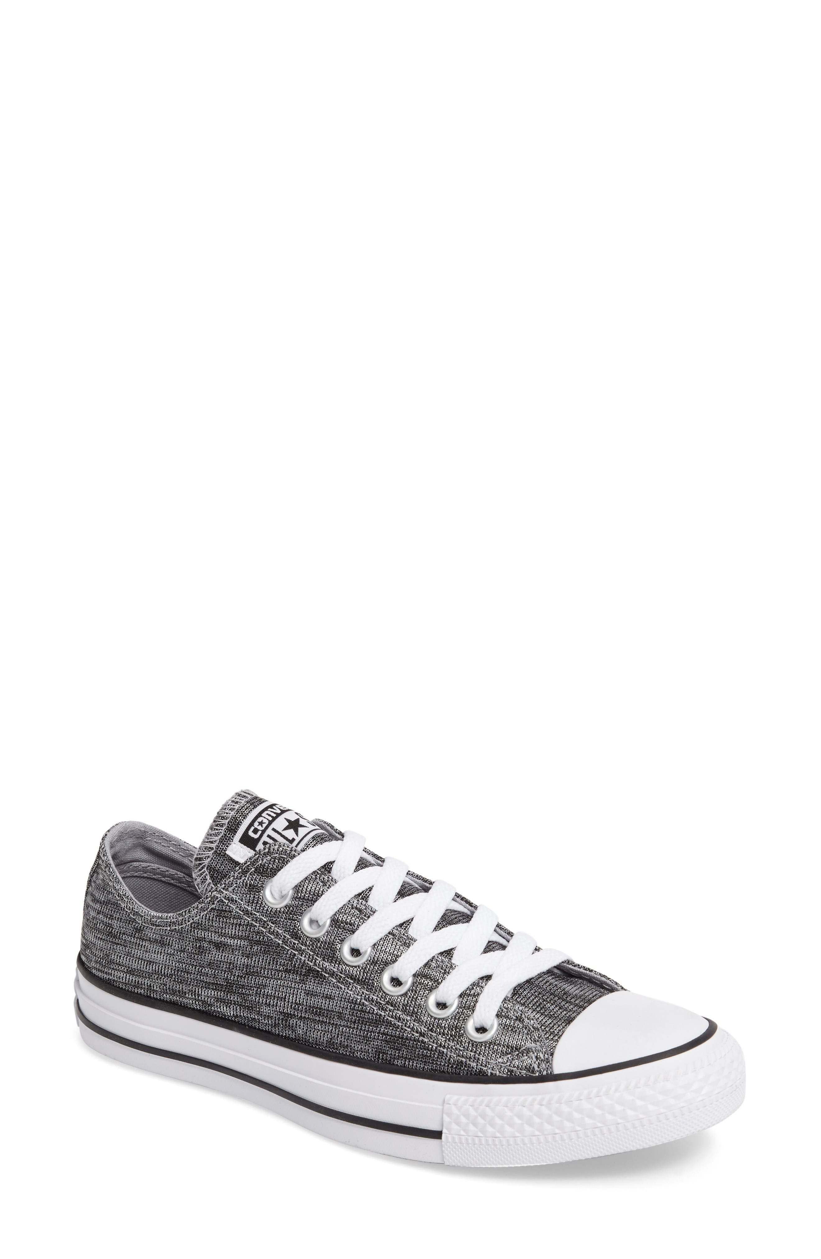 converse womens. converse chuck taylor® all star® knit low top sneaker (women) womens e