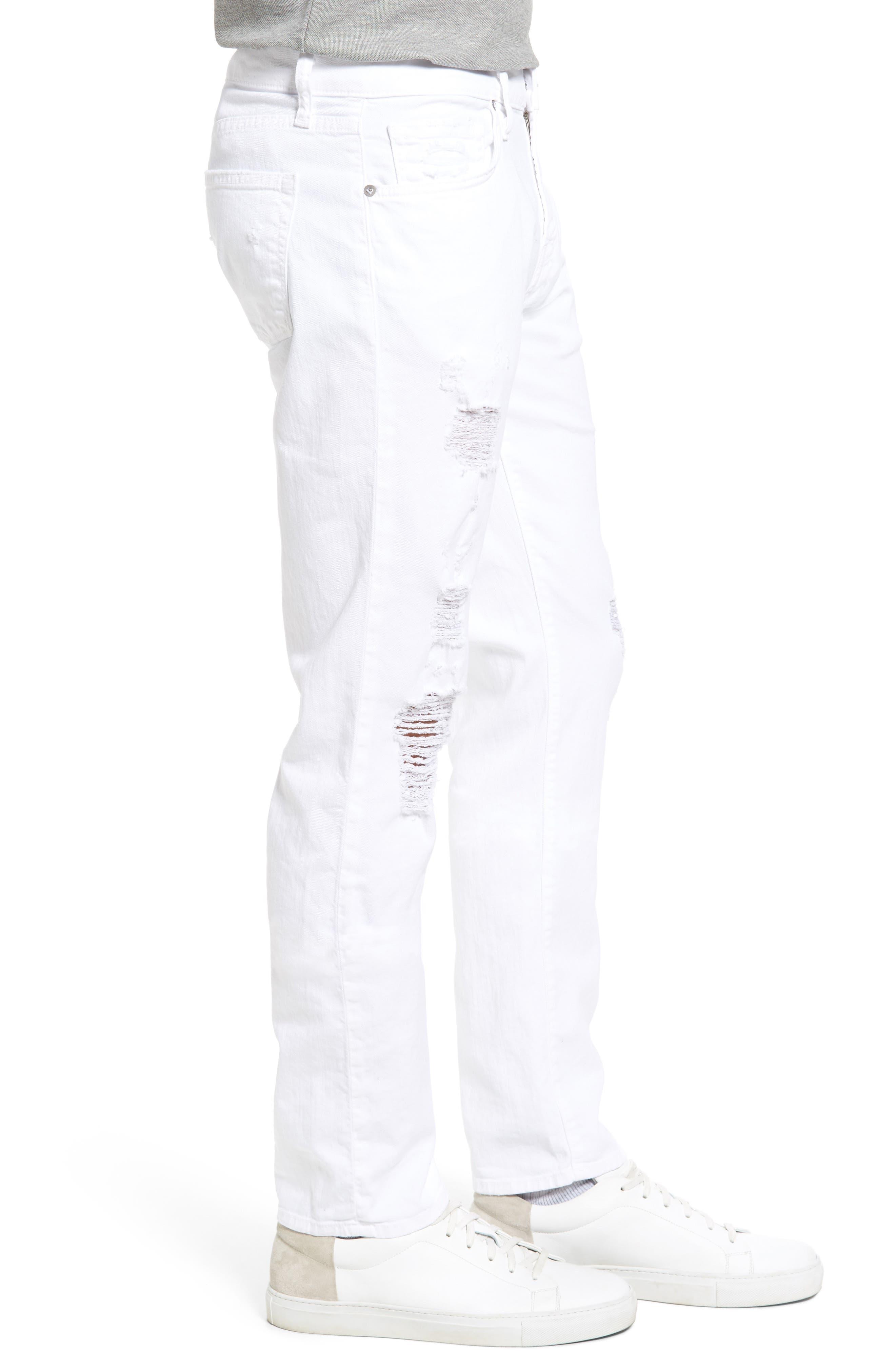 Alternate Image 3  - J Brand Tyler Slim Fit Jeans (Destructed Theoros)
