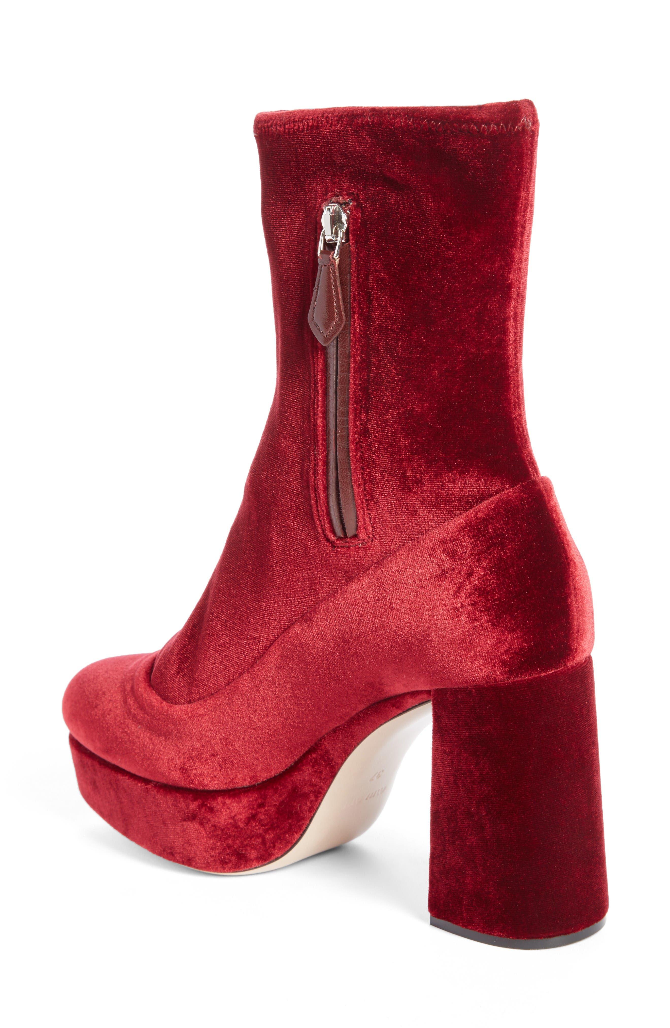 Alternate Image 2  - Miu Miu Platform Boot (Women)