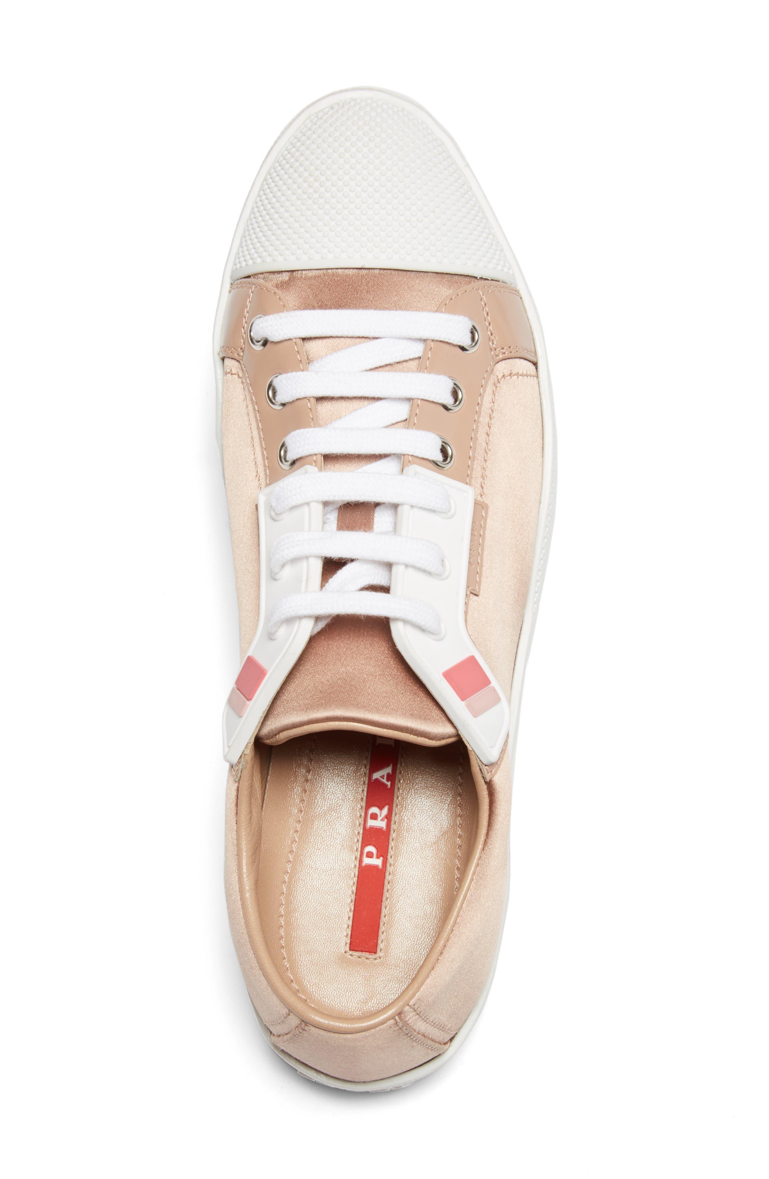 Alternate Image 3  - Prada Linea Rossa Platform Sneaker (Women)