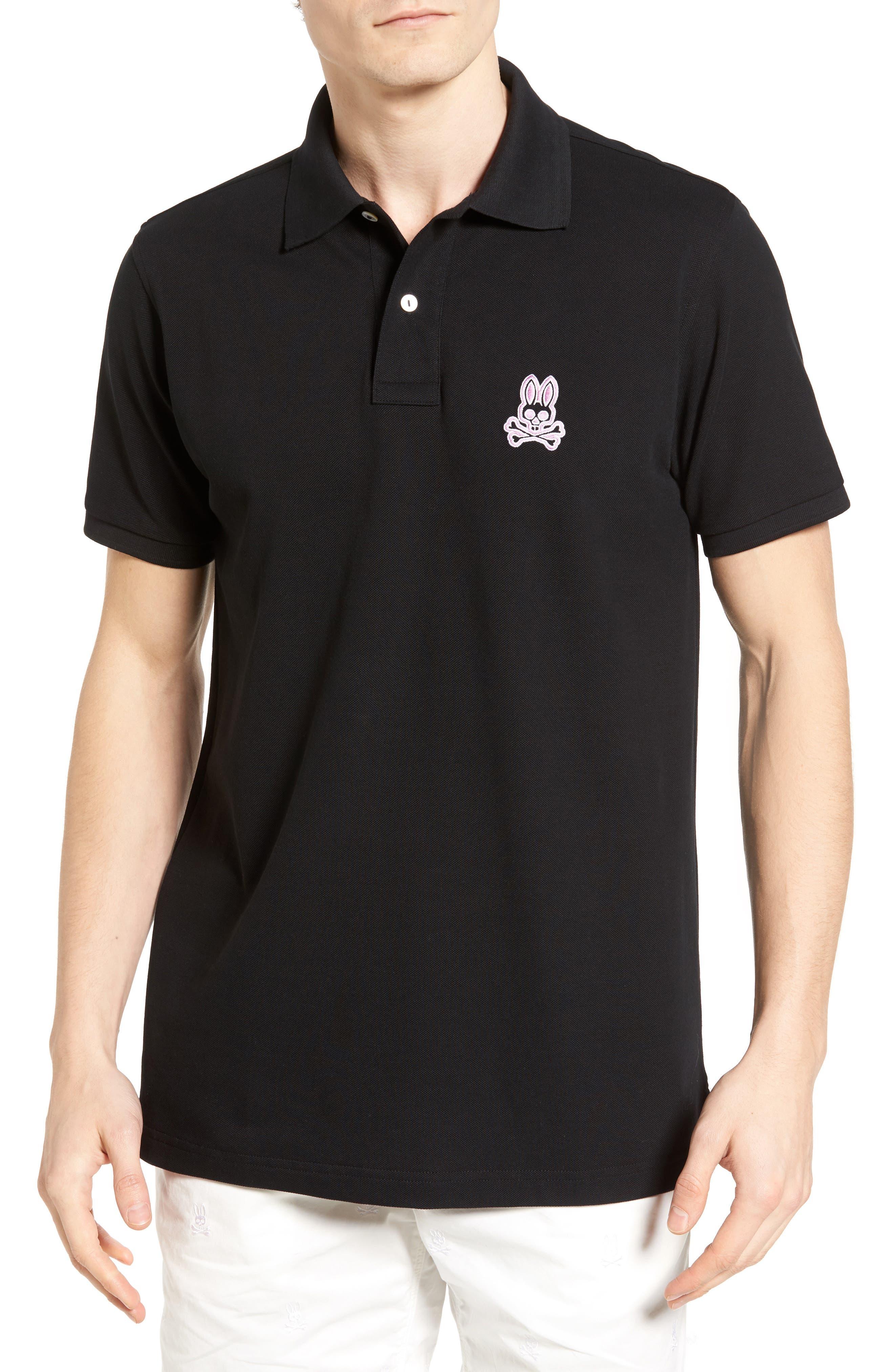 Alto Bunny Polo,                         Main,                         color, Black