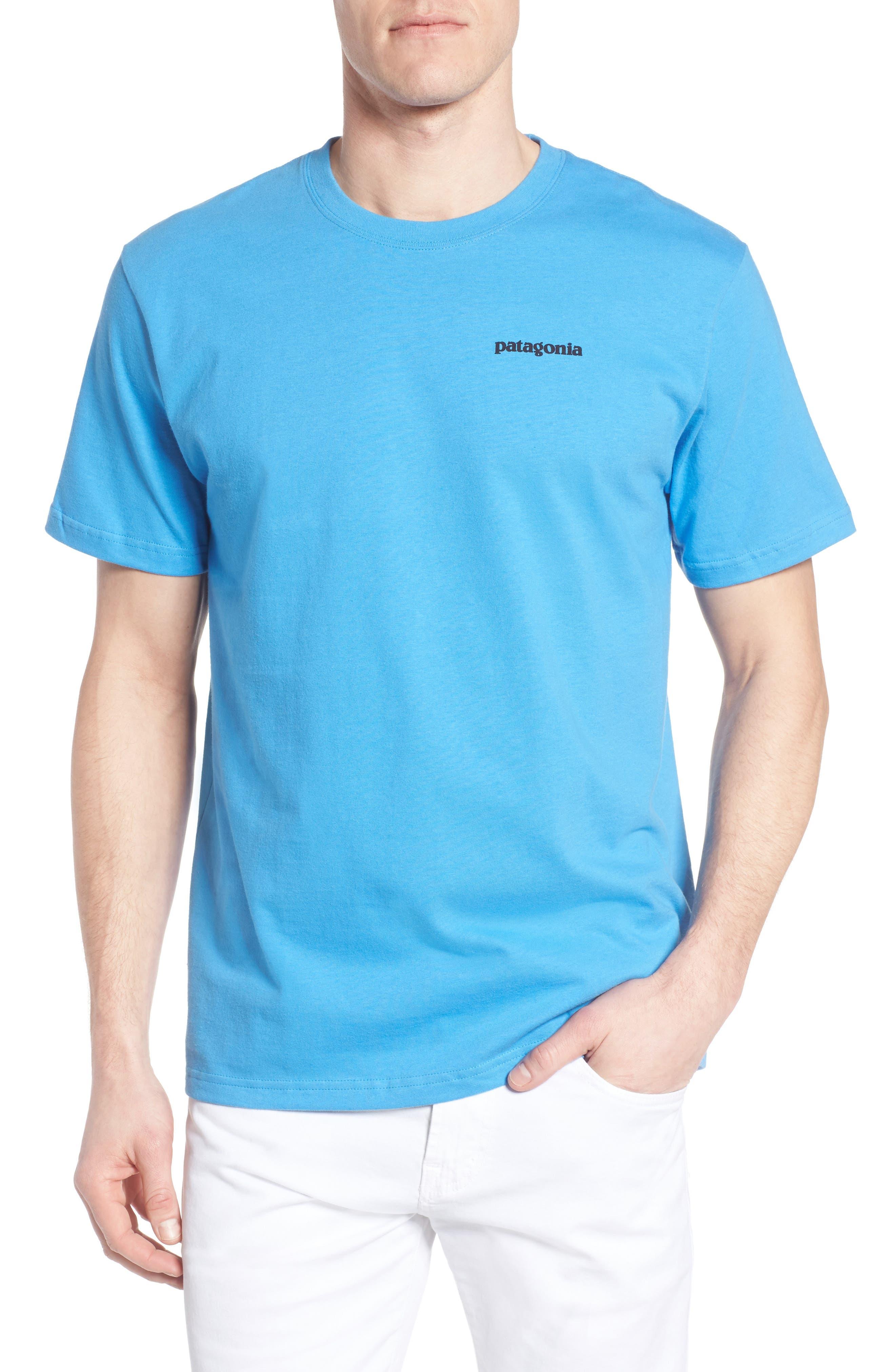 PATAGONIA Trout Fitz Roy Organic Cotton T-Shirt