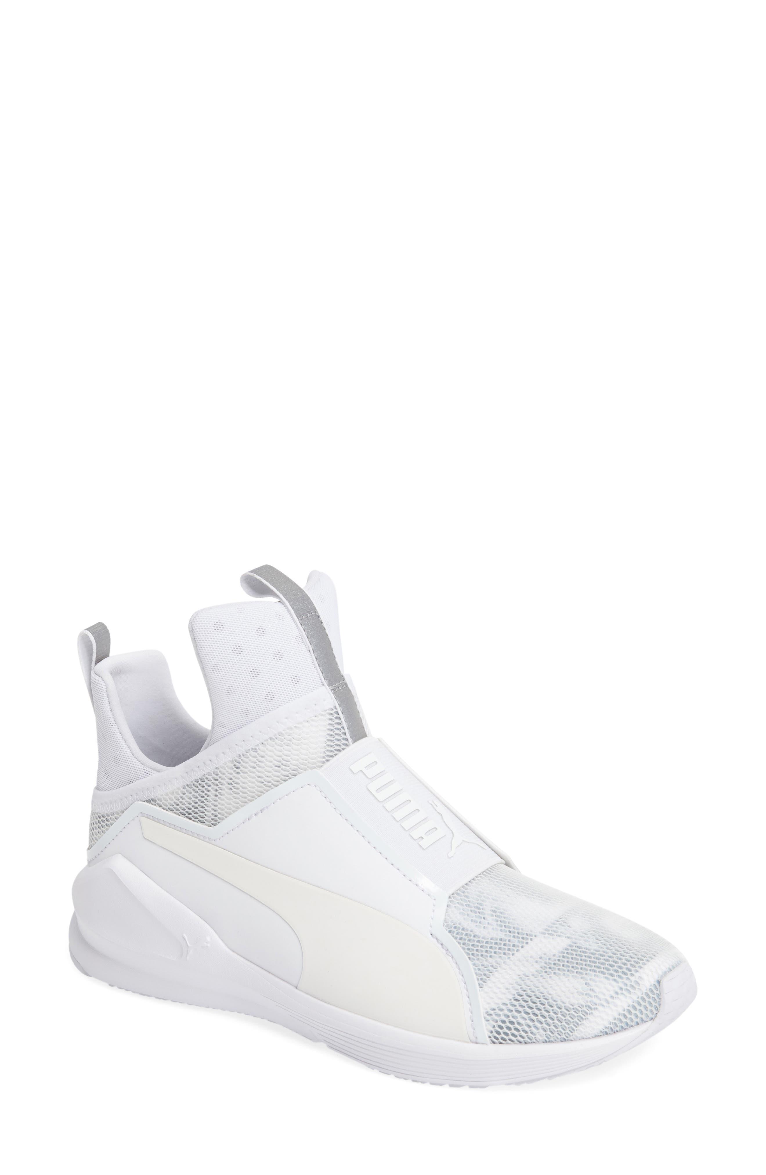 PUMA Fierce Strap Swan Training Sneaker