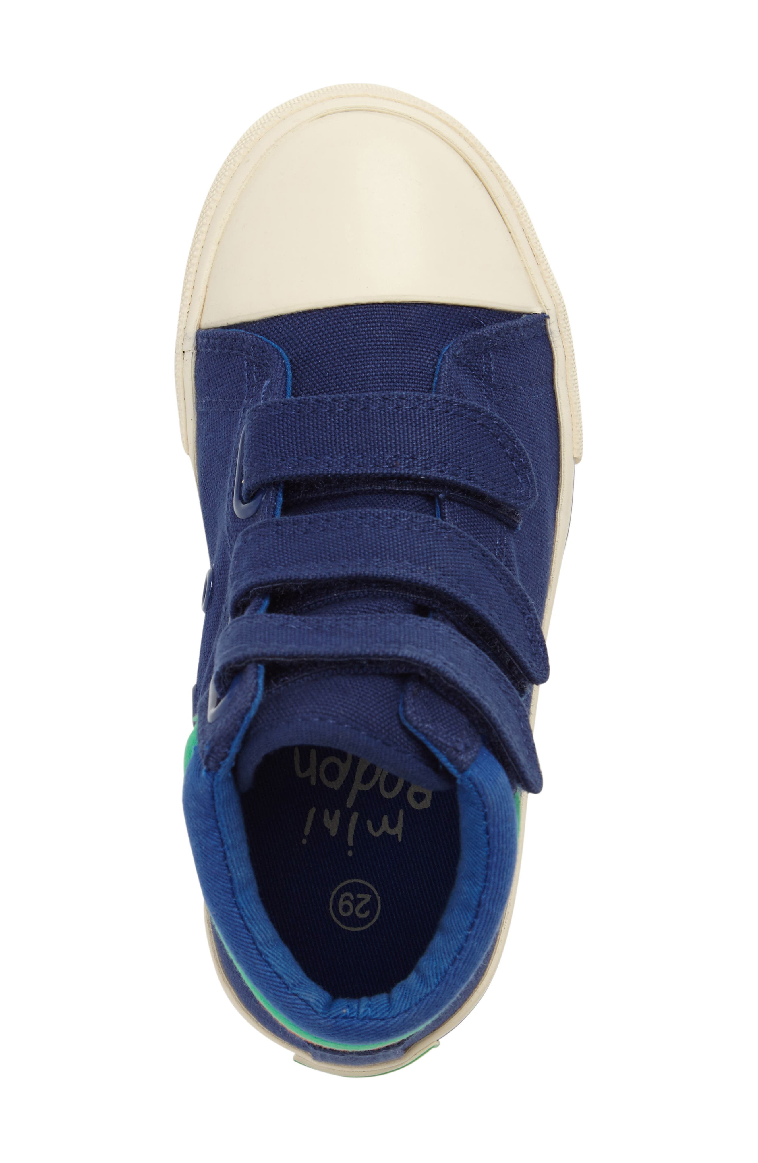 Alternate Image 5  - Mini Boden High Top Sneaker (Toddler, Little Kid & Big Kid)